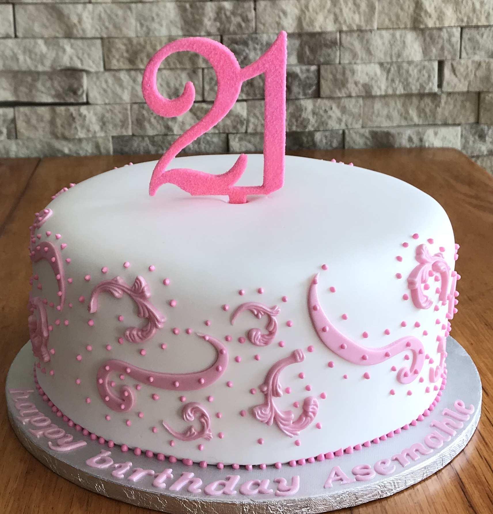 1712 X 1785 In 32 Excellent Photo Of 21 Birthday Cakes