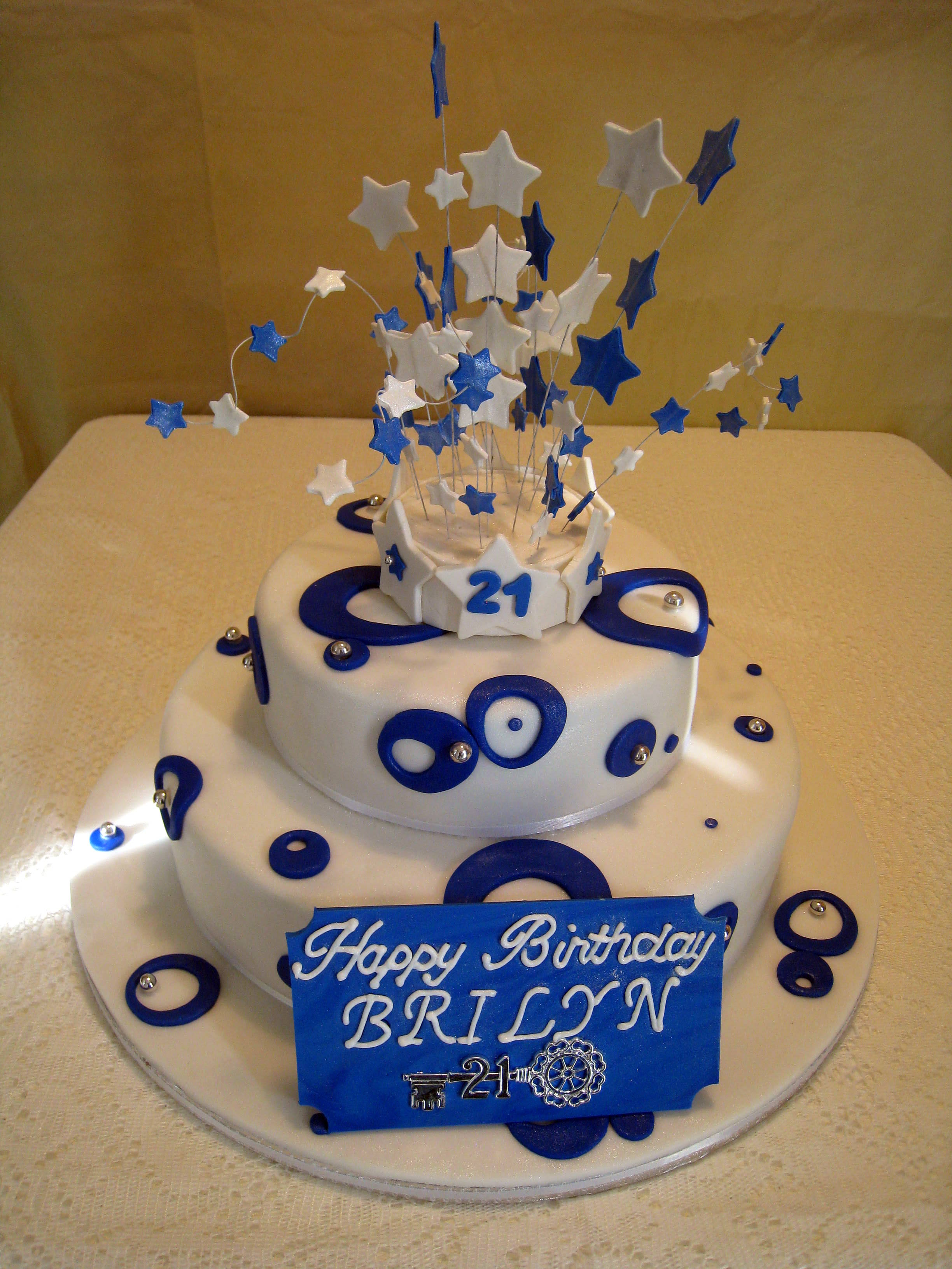 3264 In 21 Exclusive Image Of 21St Birthday Cakes For Him