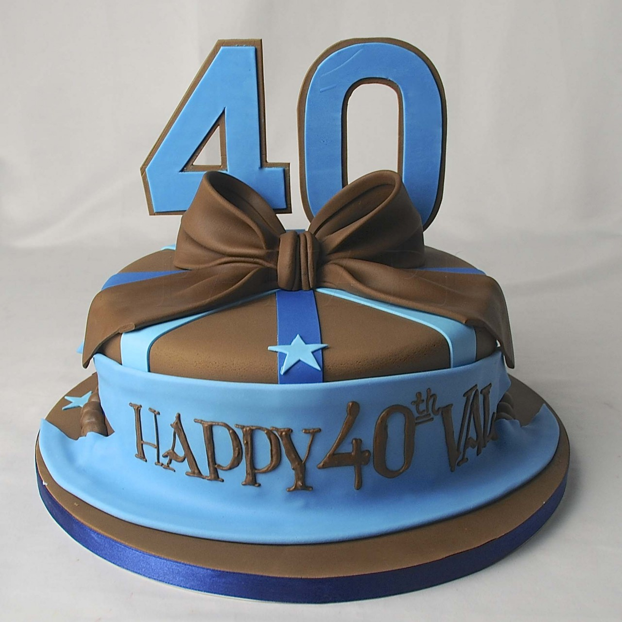 1280 In 30 Marvelous Picture Of 40Th Birthday Cake Ideas