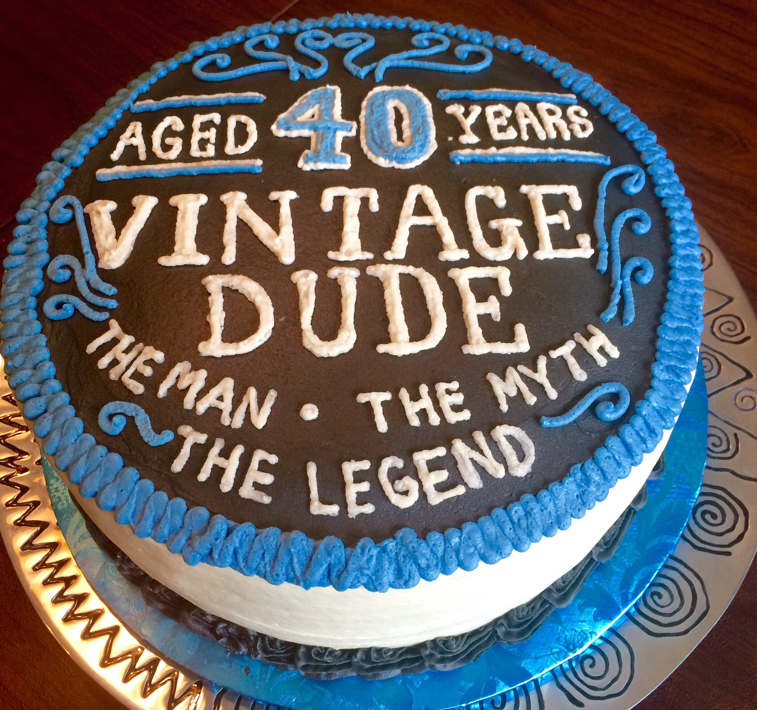 40Th Birthday Cake Ideas For Him 40th Cakes Pinterest