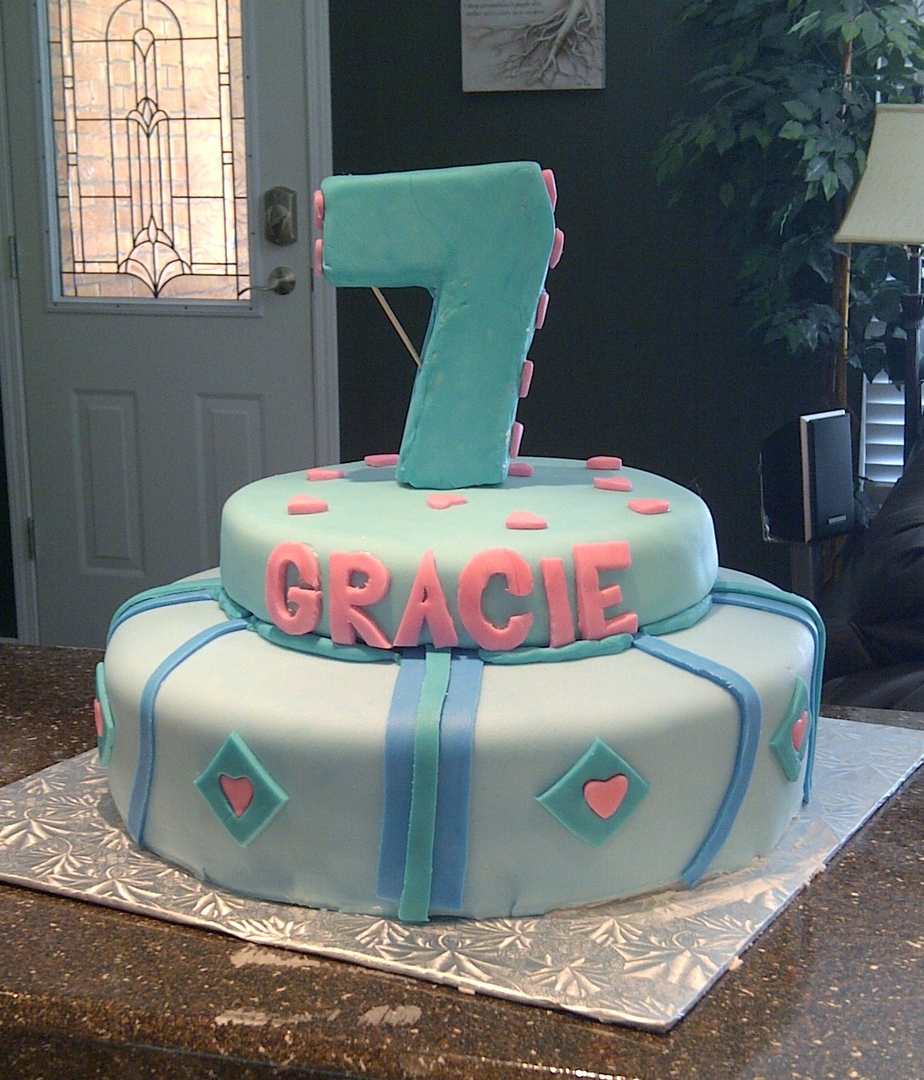 7 Year Old Birthday Cake 12 Seven Cakes For Girls Photo Boy