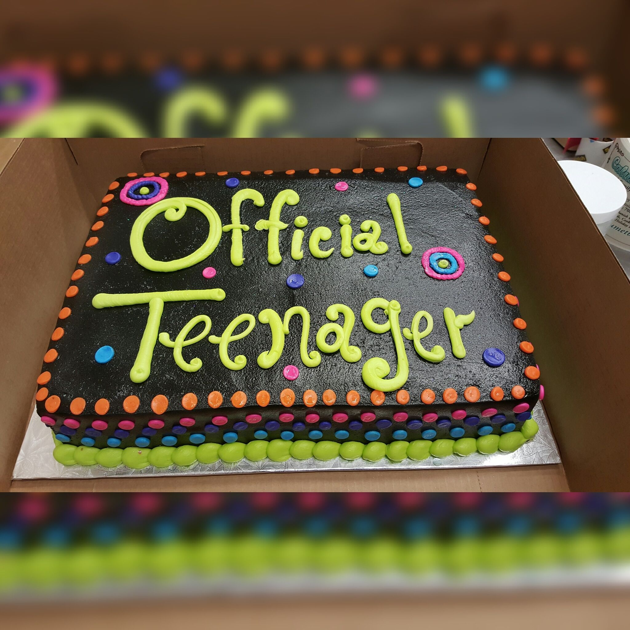 Birthday Cake For Teenager Boy Calumet Bakery Official Milestone Cakes