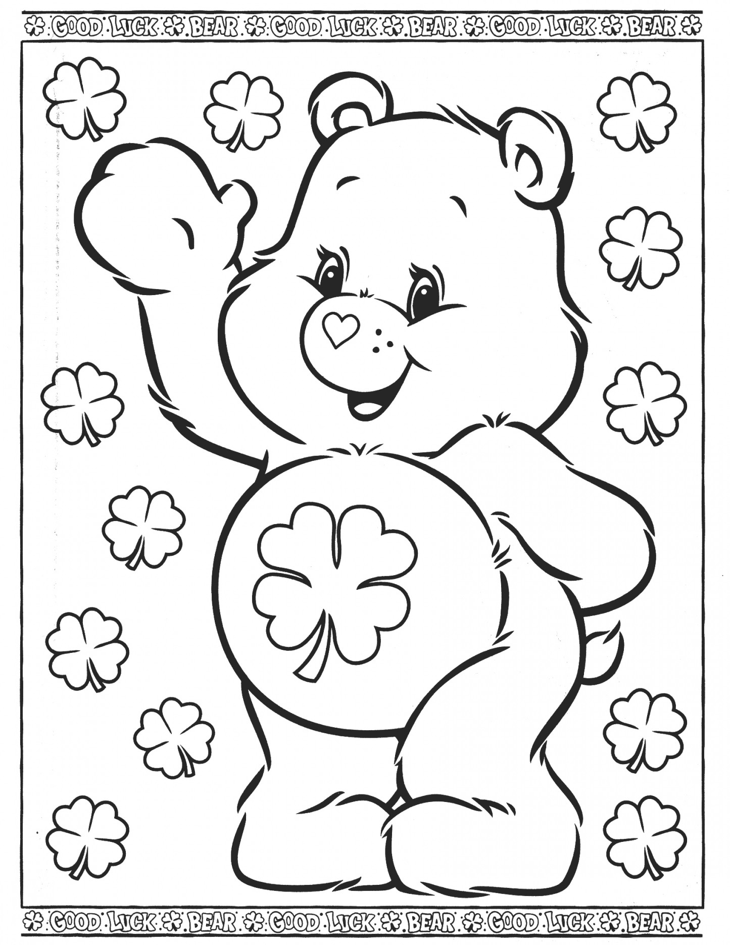 Care Bear Coloring Pages Elegant Care Bears Coloring Pages Ruva