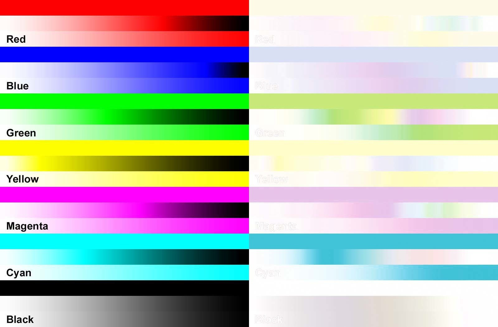 Color Printer Test Page Colour Inkjet Printer Test Page At Epson ...