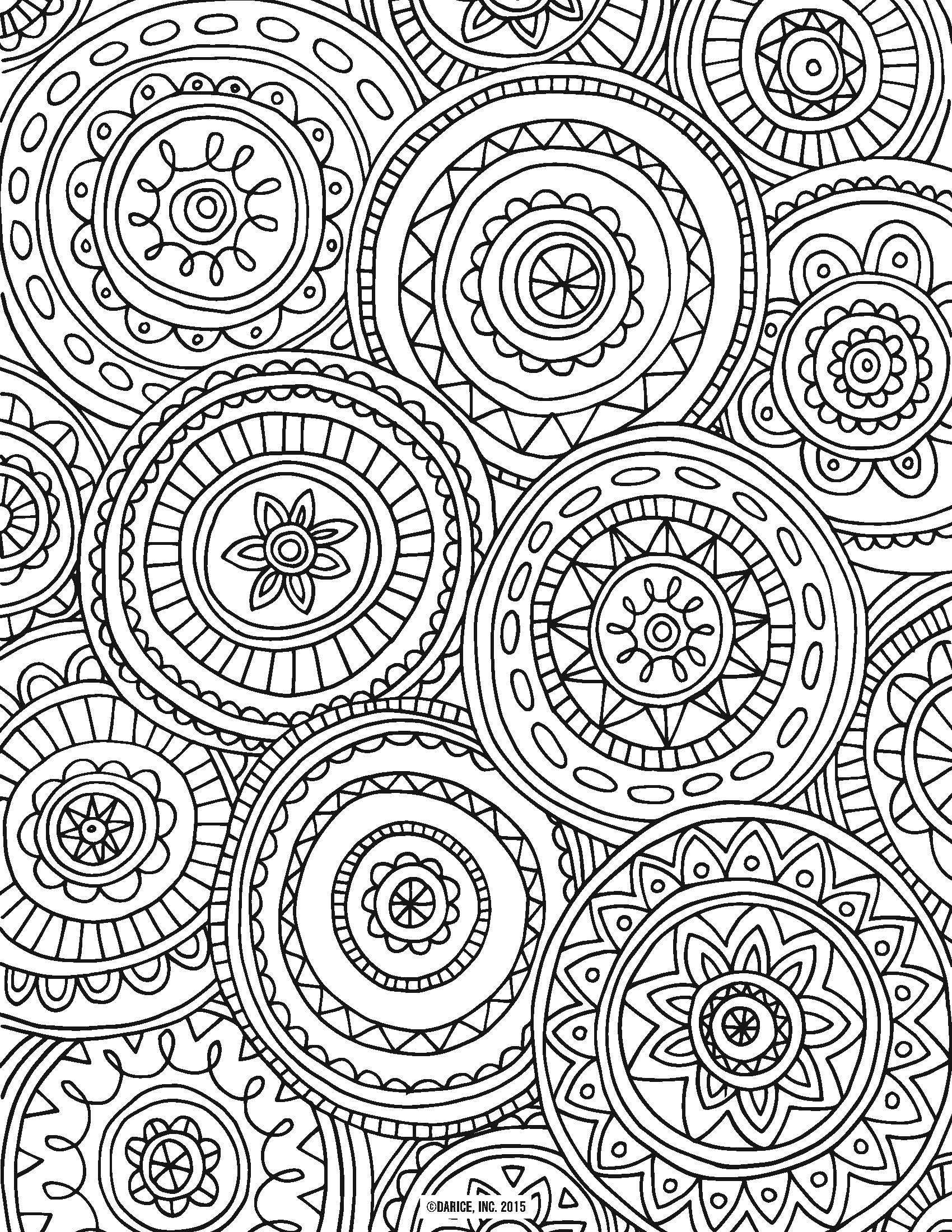 Adult Coloring Page. Wolf. Zentangle Doodle Coloring Book Page ...   2200x1700