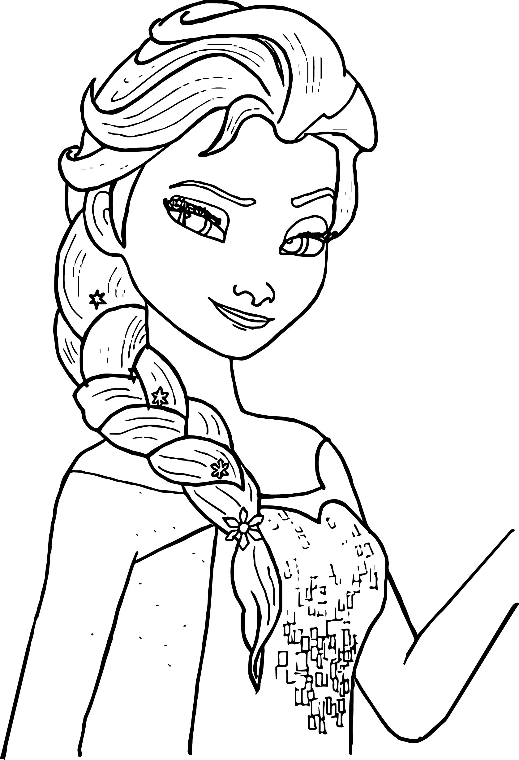 Coloring Pages Of Elsa Coloring Page 32 Awesome Elsa Coloring Pages