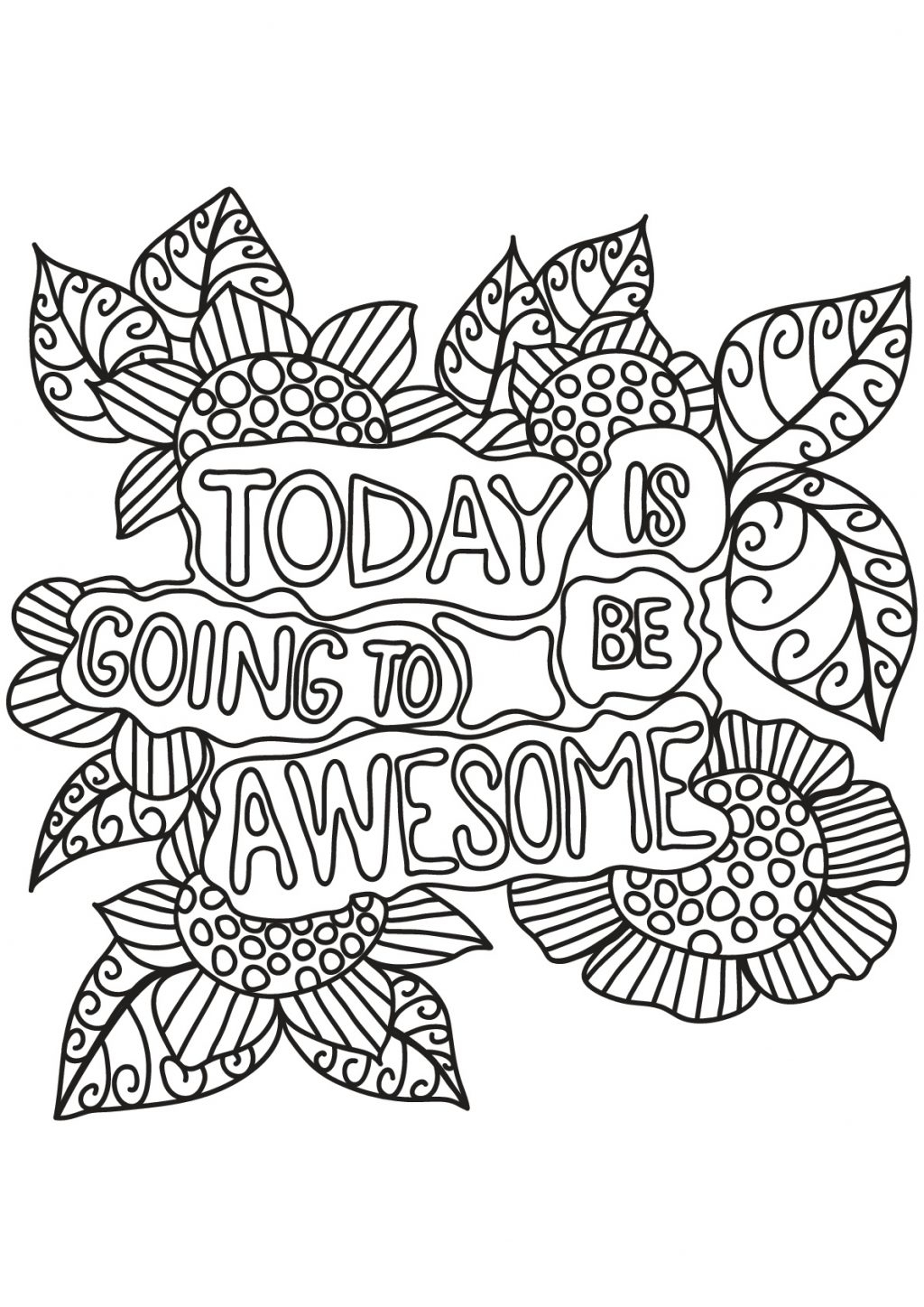 picture about Free Printable Adult Coloring Pages Quotes identify Coloring Webpages Quotations Coloring Web pages Cost-free Guide Estimate Estimates