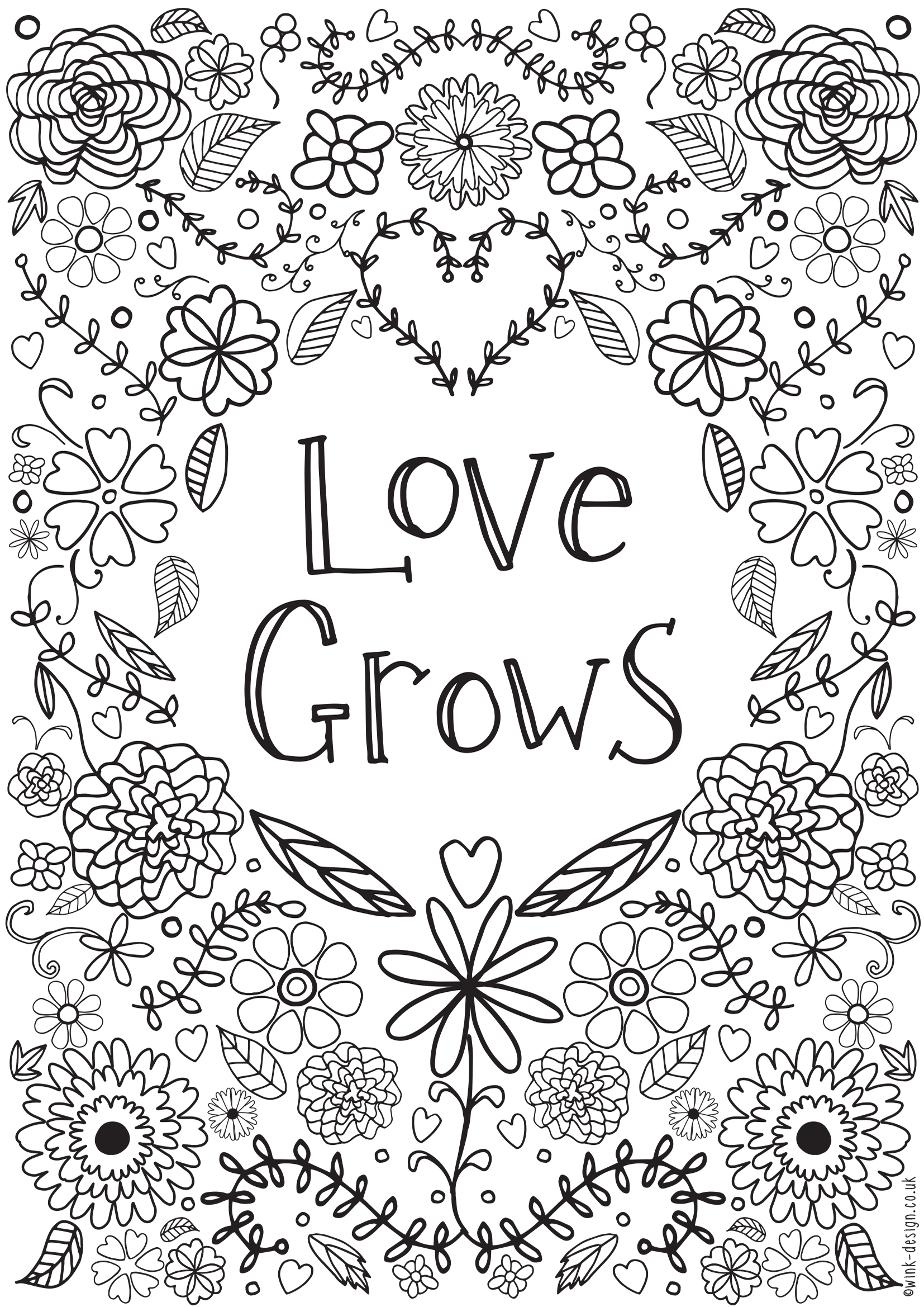 - Coloring Pages Quotes Free Printable Adult Colouring Pages
