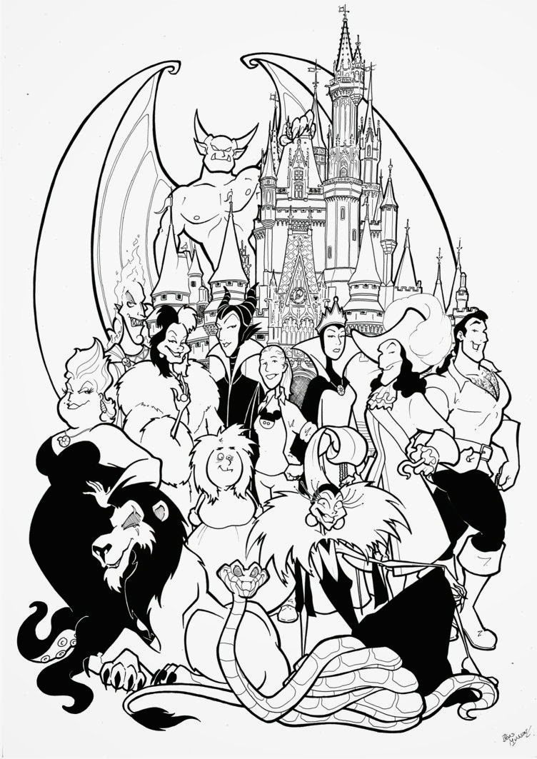 - Disney Character Coloring Pages 22 Free Disney Printable Color