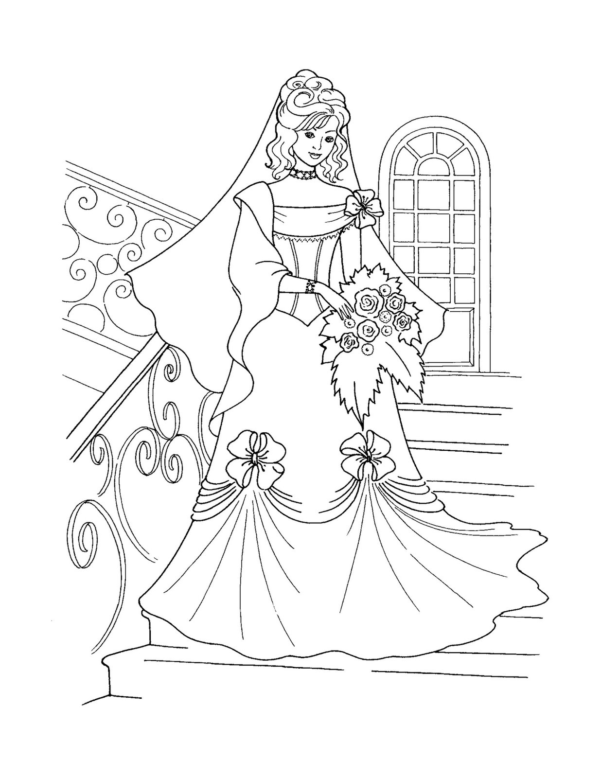 Disney Princess Coloring Page Free Printable Disney Princess