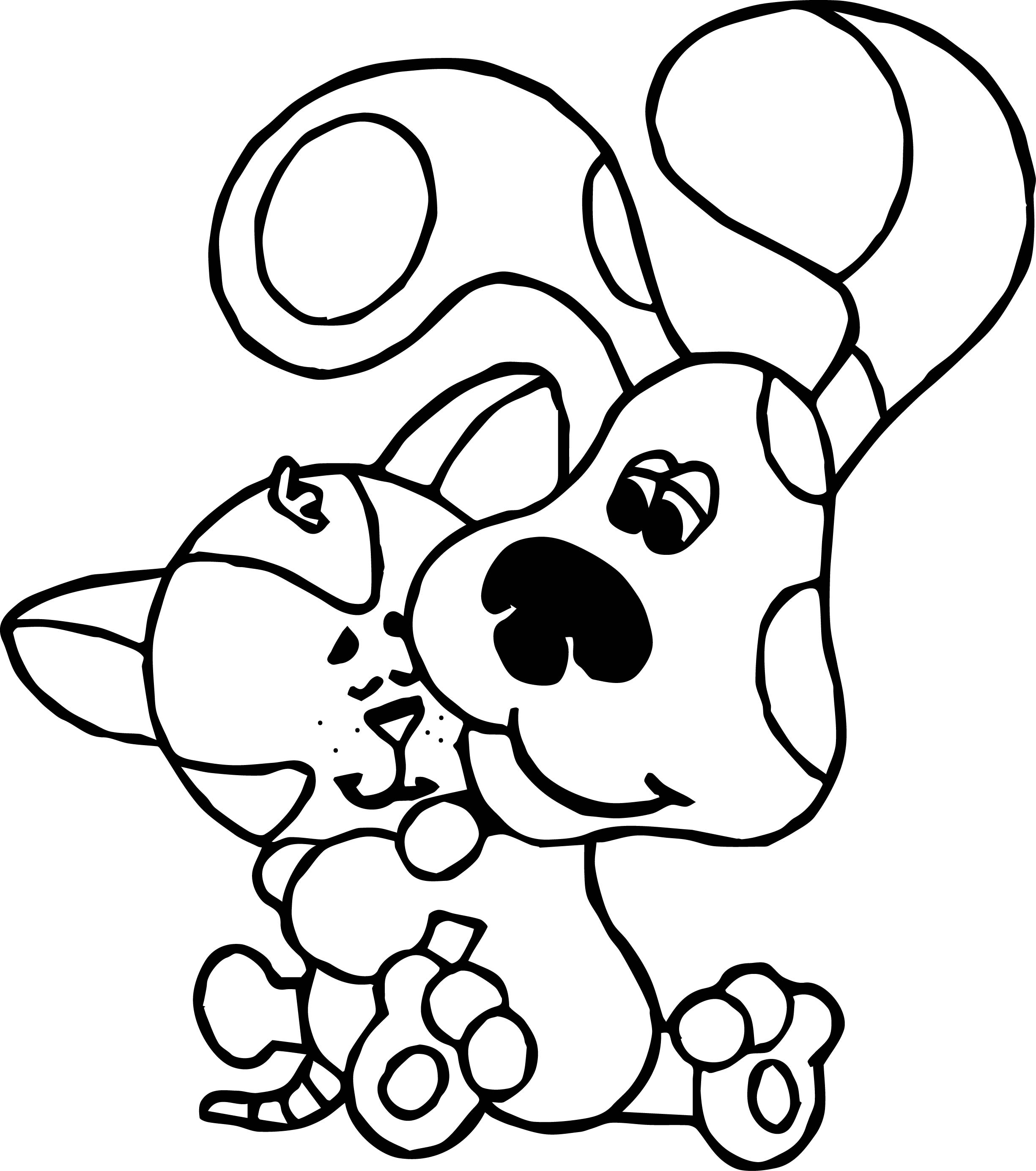 Free Printable Blues Clues Coloring Pages For Kids   Crayola ...   2769x2450
