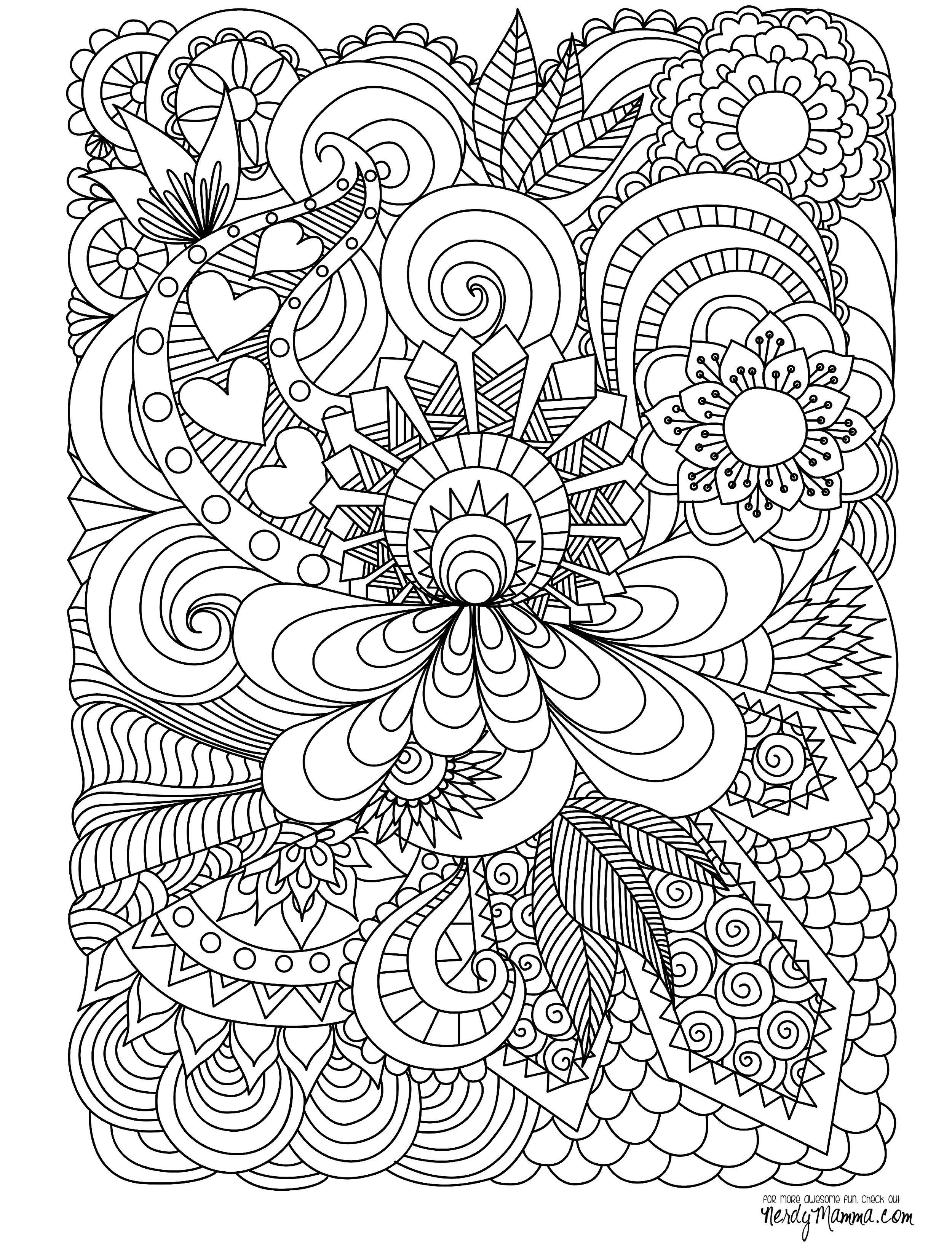 Free April and May Coloring Pages for Spring | Spring coloring ... | 3300x2500