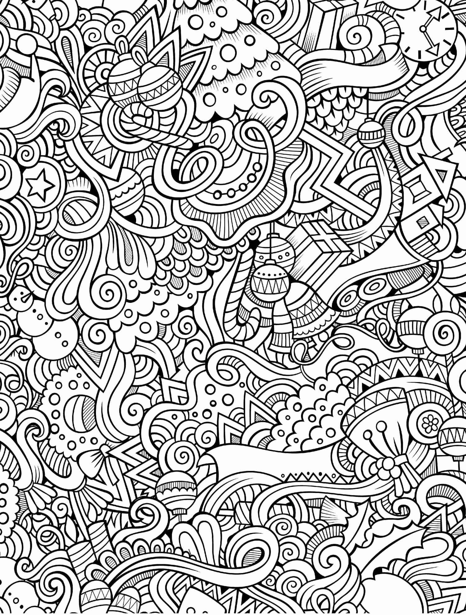 Doodle Coloring Pages Free Printable Zentangle Coloring ...