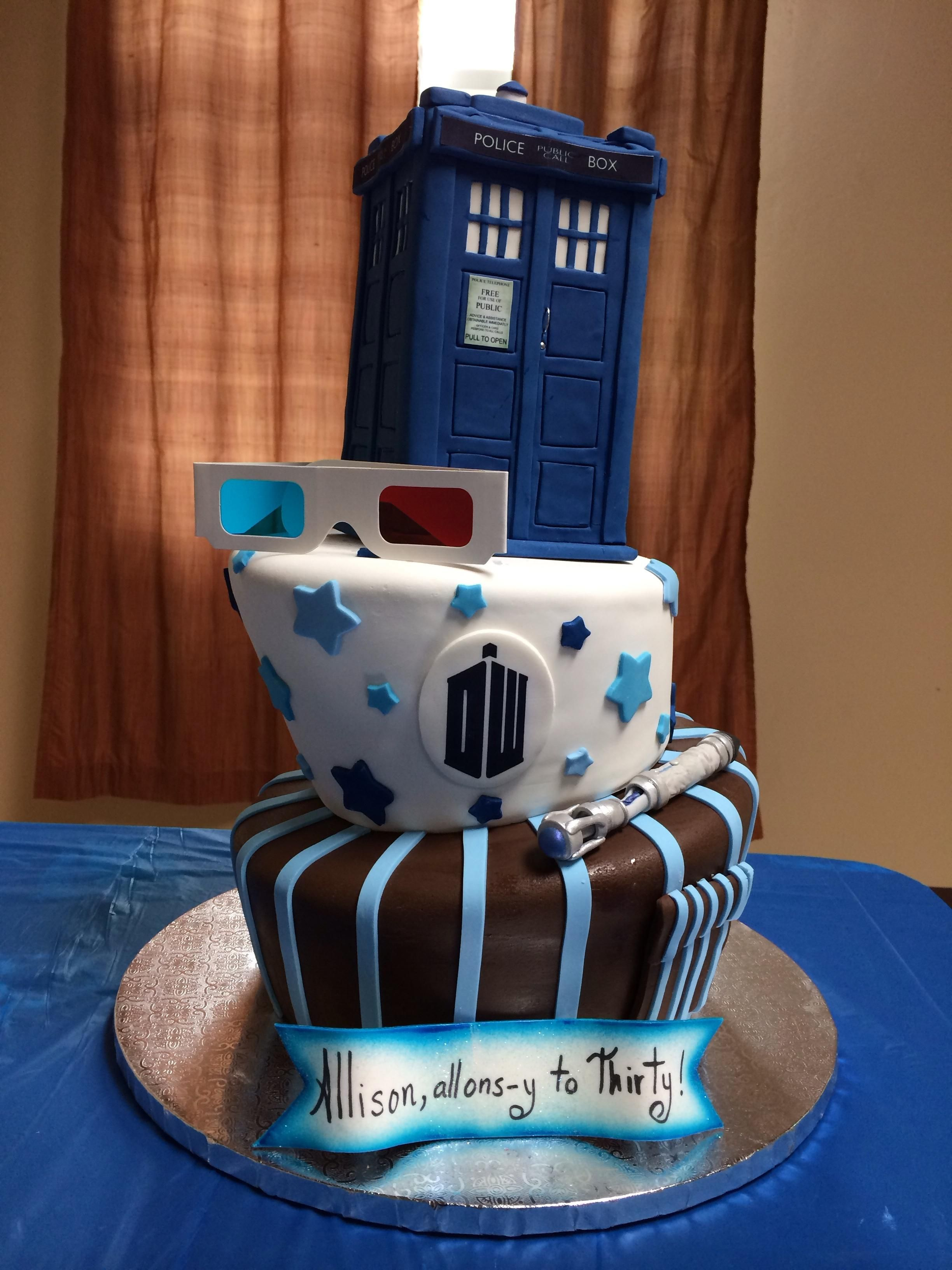 3264 In 30 Marvelous Photo Of Dr Who Birthday Cake