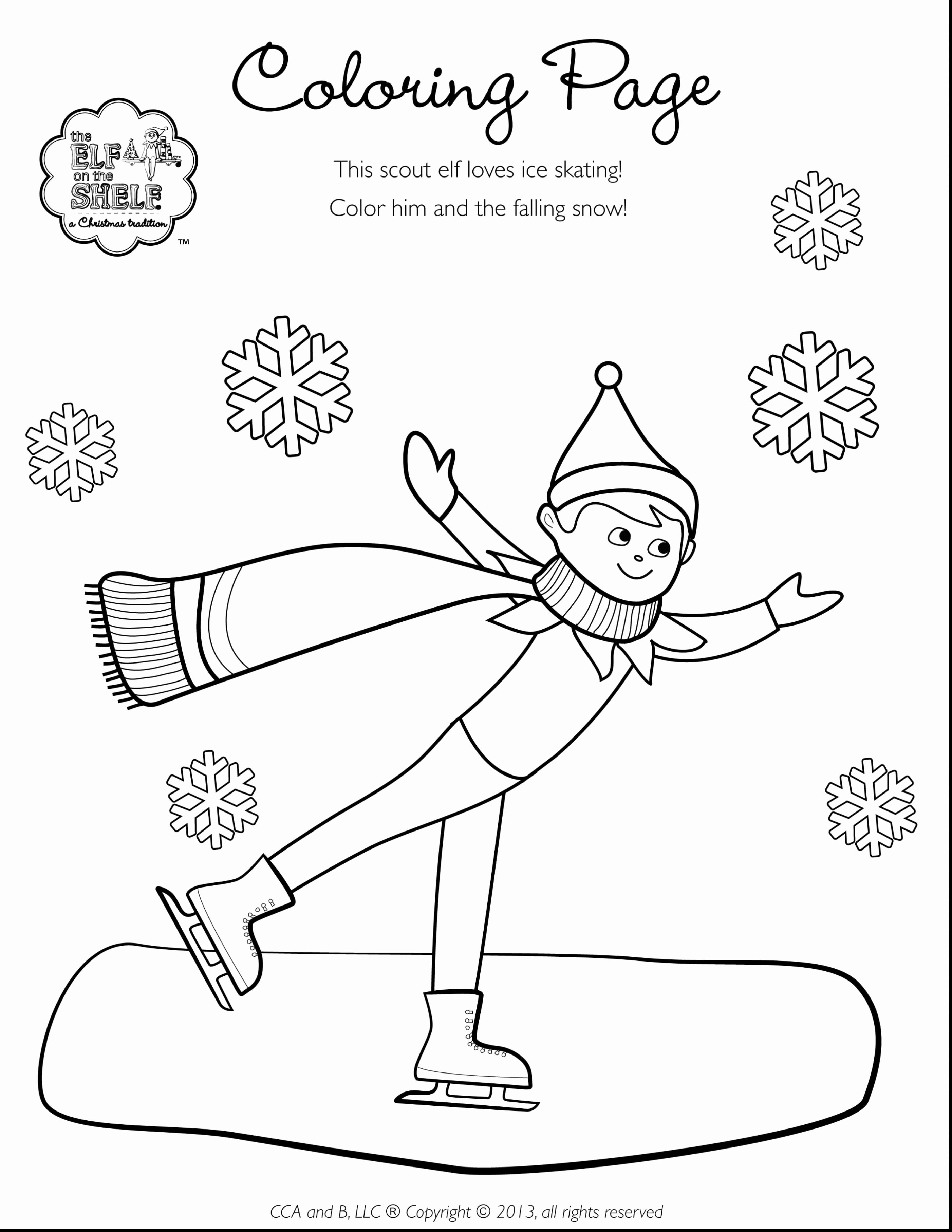 - Elf On The Shelf Coloring Pages Elf On The Shelf Coloring Pages At
