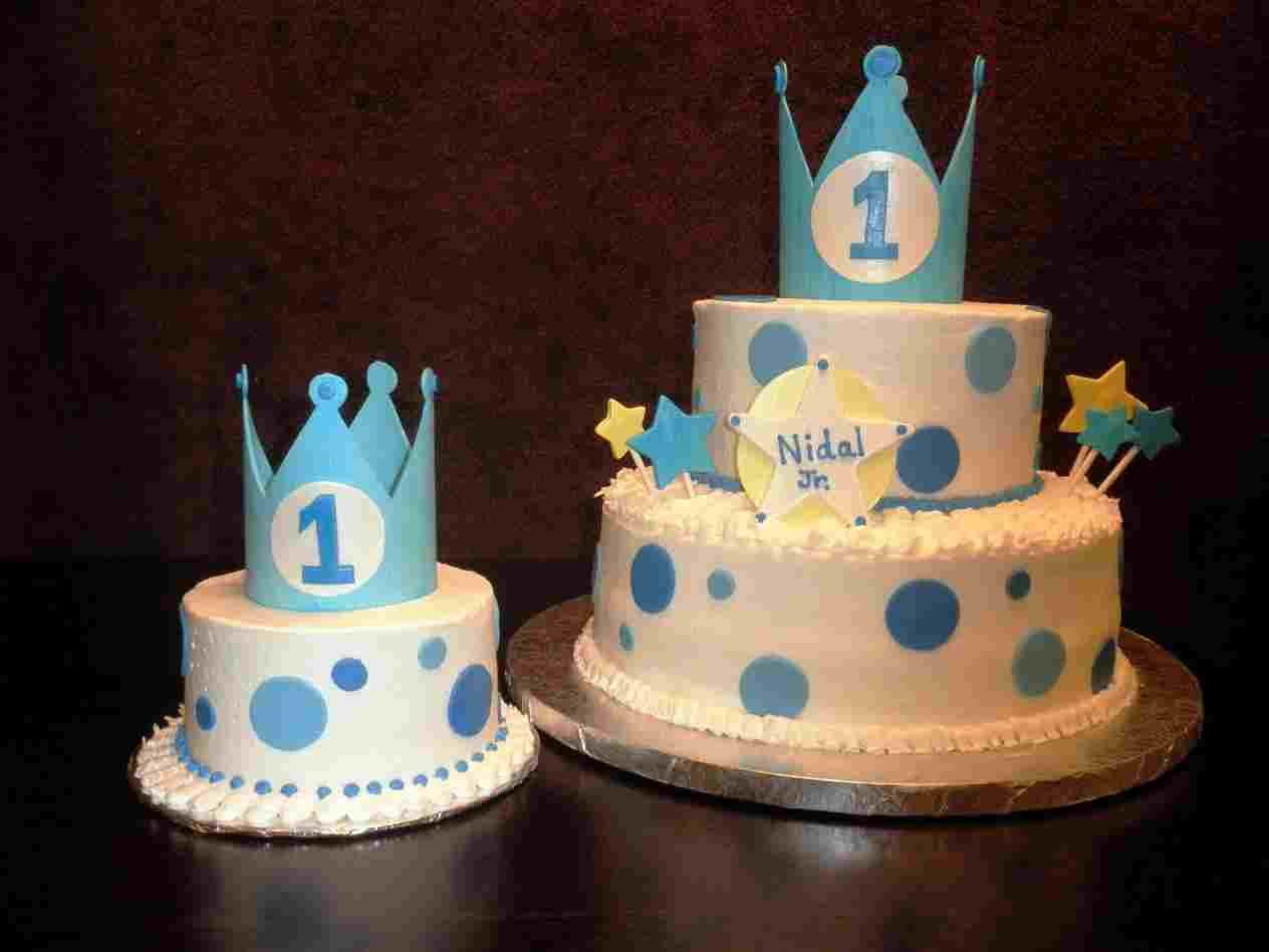 948 In 25 Inspiration Image Of First Birthday Cake Boy
