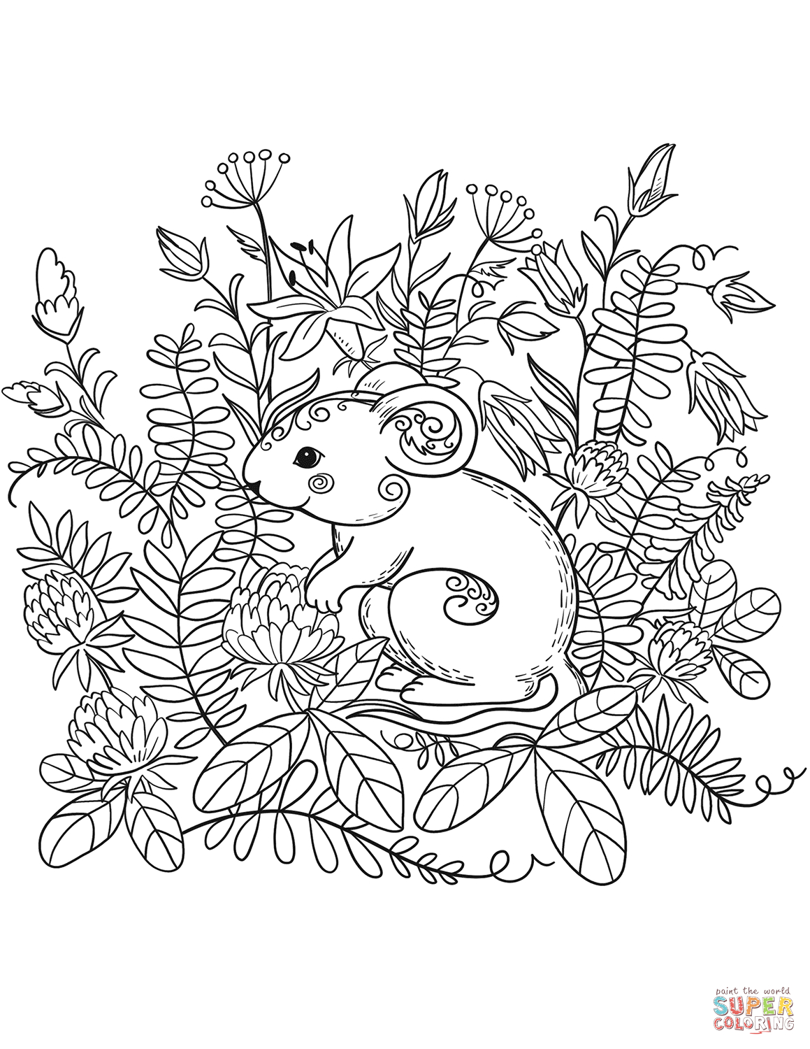 Plants & Animals   Free Coloring Pages   crayola.com   1500x1159