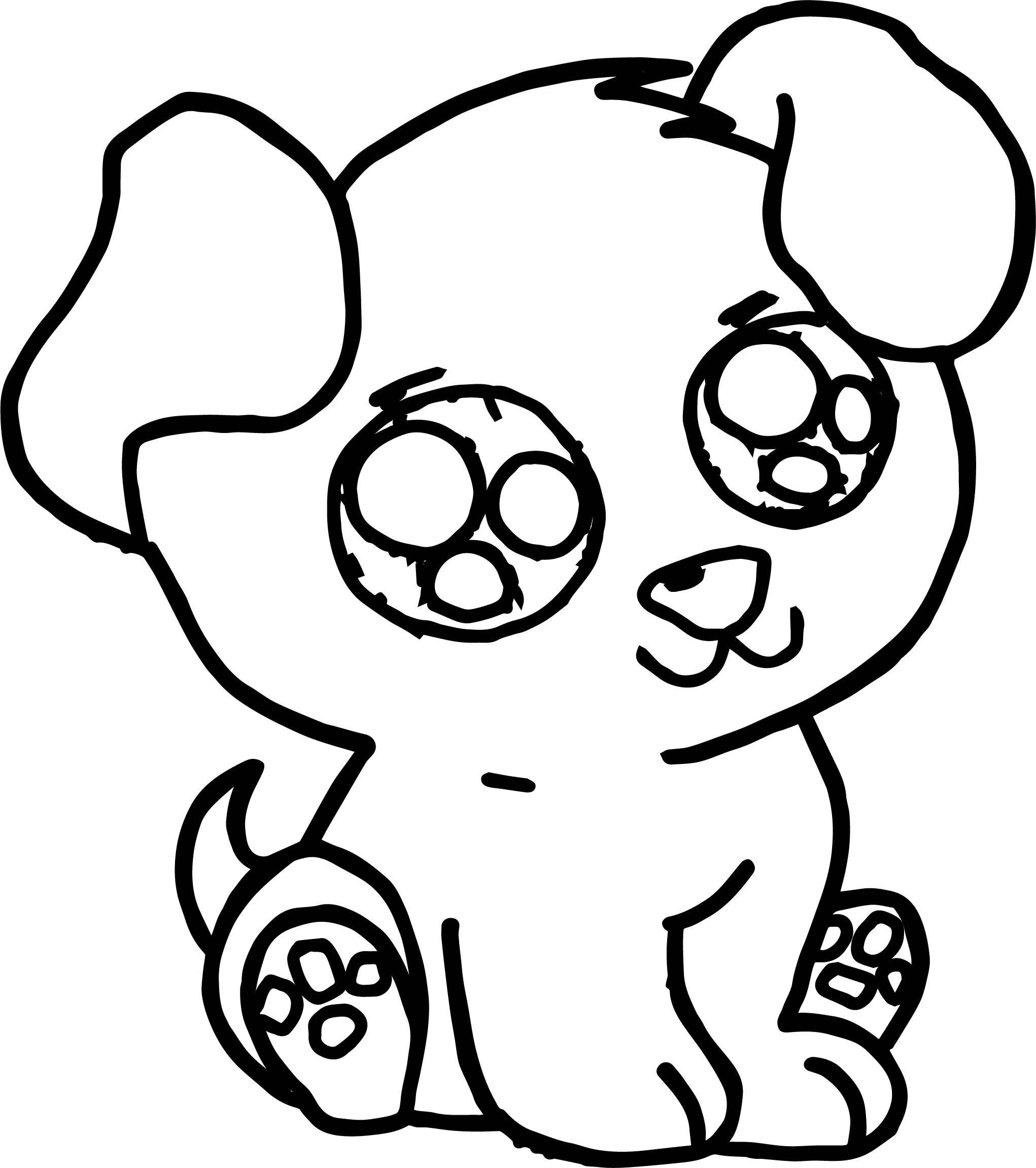 Give your child dog coloring pages and make him happy - Dogalize   2301x2042