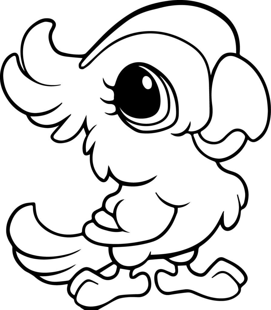 - Free Printable Animal Coloring Pages Cute Printable Coloring Pages