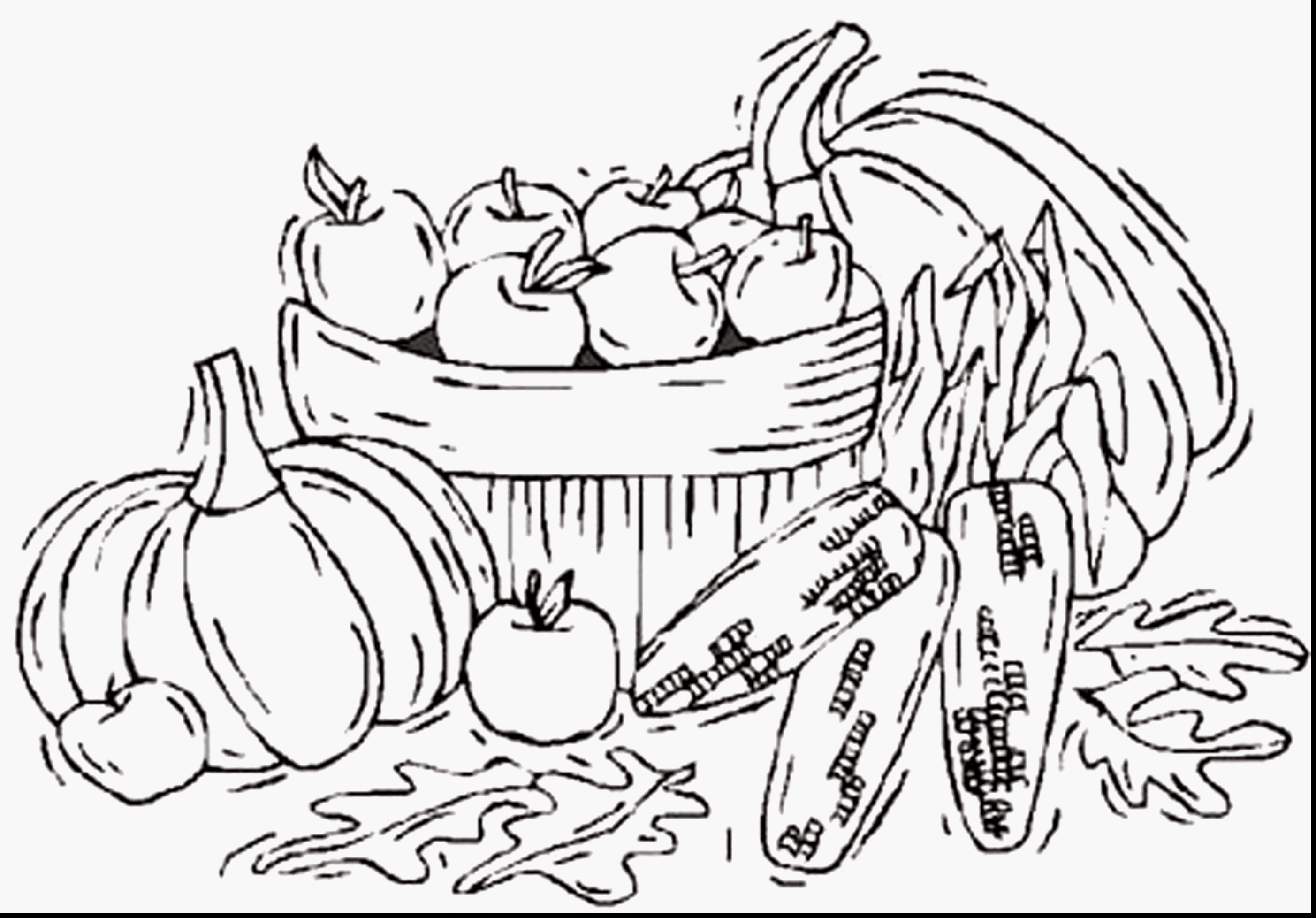 Winter Scenes With Cute Animals Coloring Page - Free Coloring Pages Online | 1956x2805