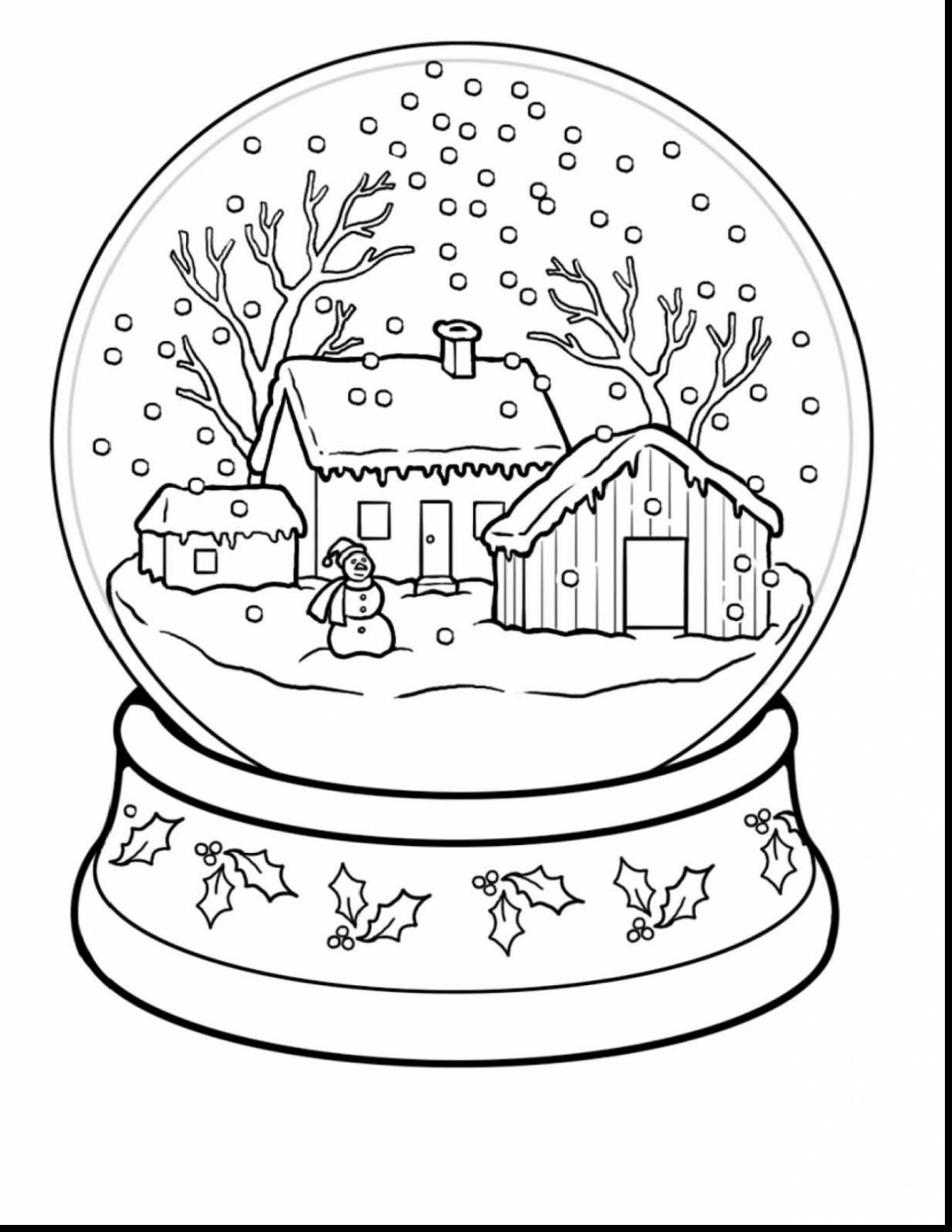 - Free Winter Coloring Pages Winter Coloring Pages New Winter