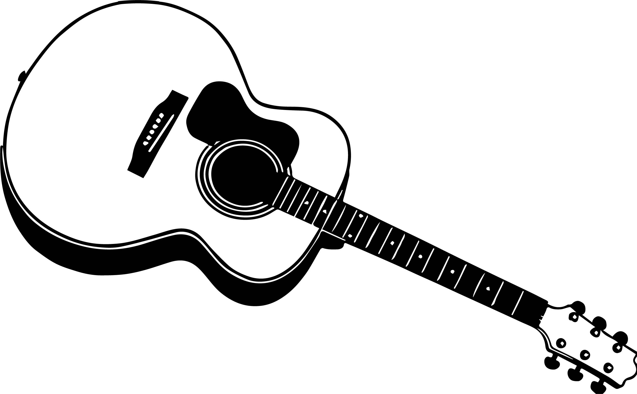 Printable Guitar Coloring Page | 1544x2495