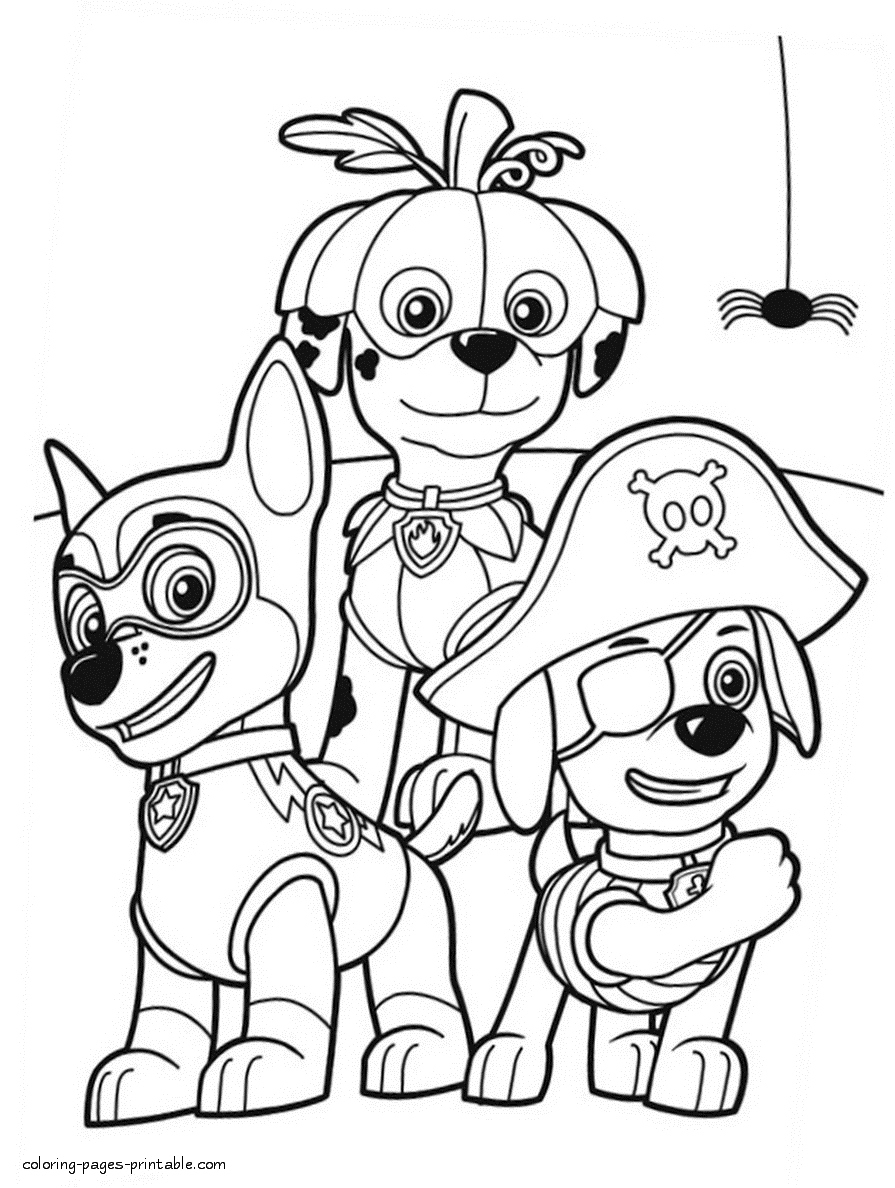 - Halloween Coloring Pages Printables Paw Patrol Halloween Coloring