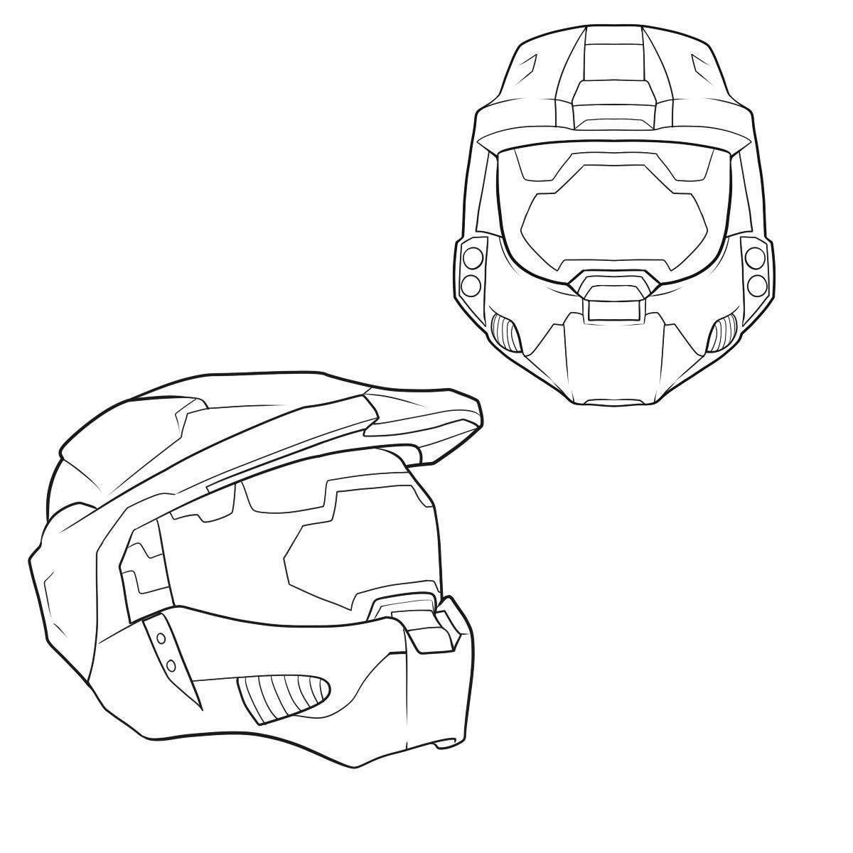 Halo Coloring Pages Halo Coloring Pages Easy Clipart How