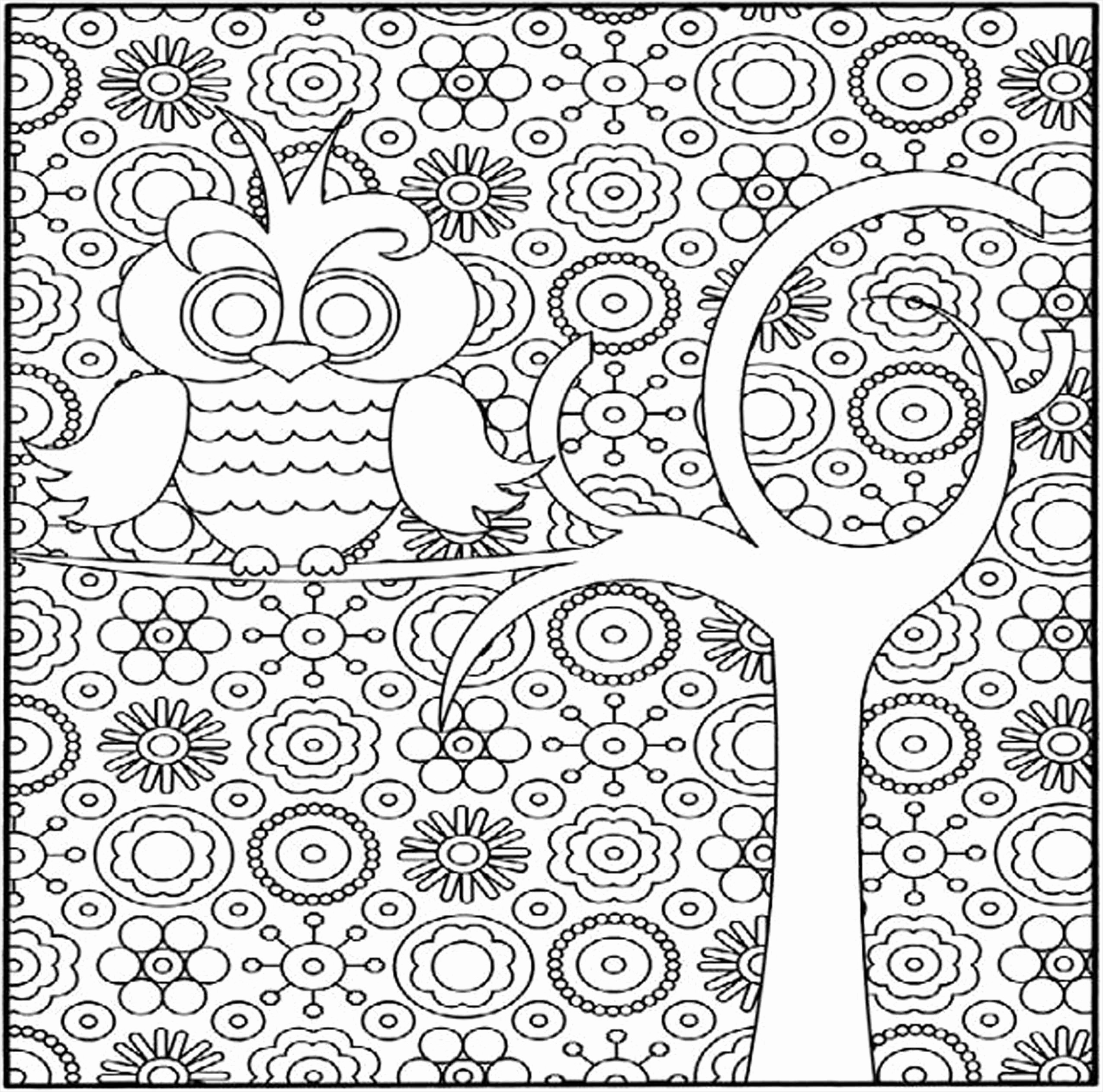 Free Hard Coloring Pages Of Animals To Print, Download Free Clip ... | 2525x2550