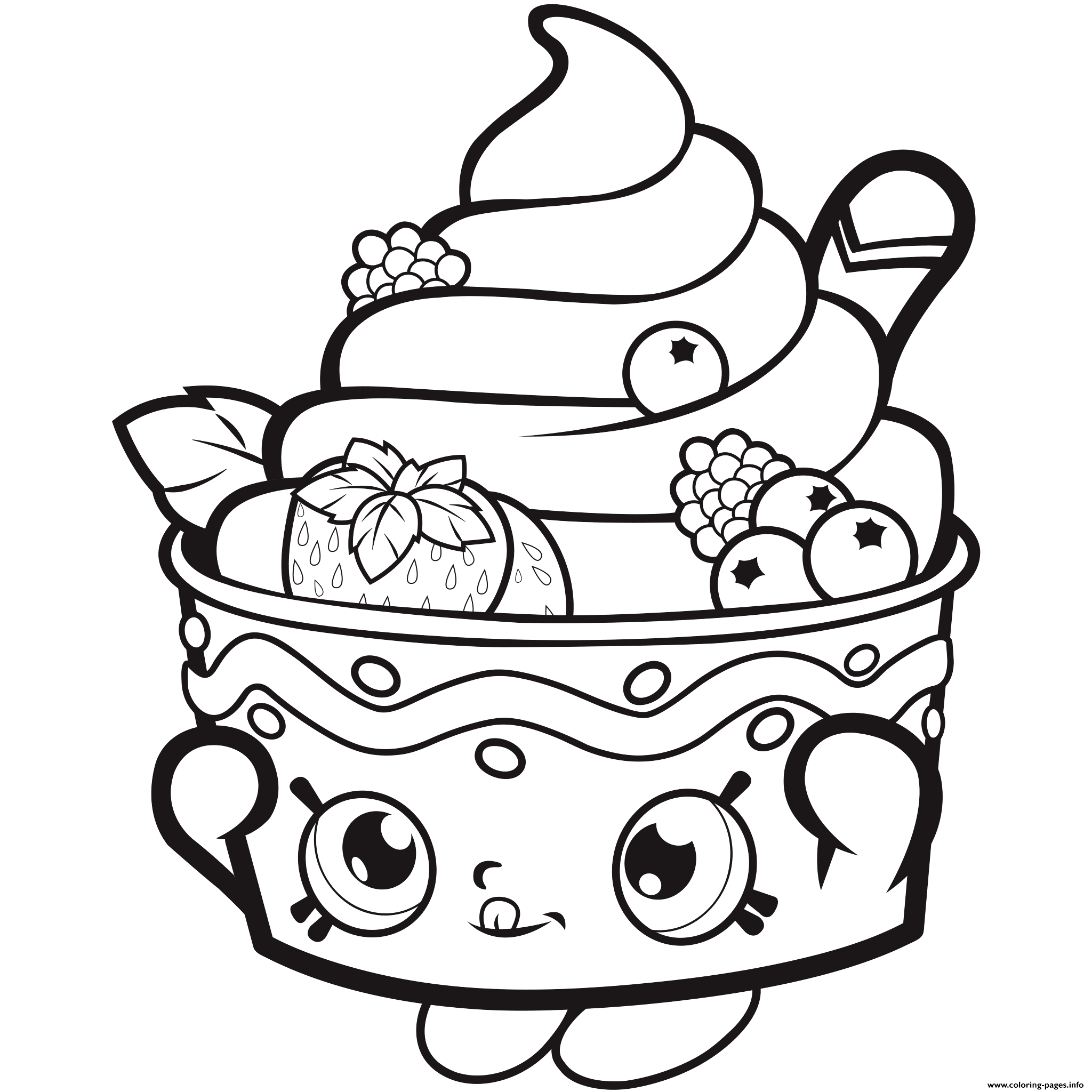 Ice Cream Coloring Pages Coloring Pages Ice Cream Shopkins Icecream ...