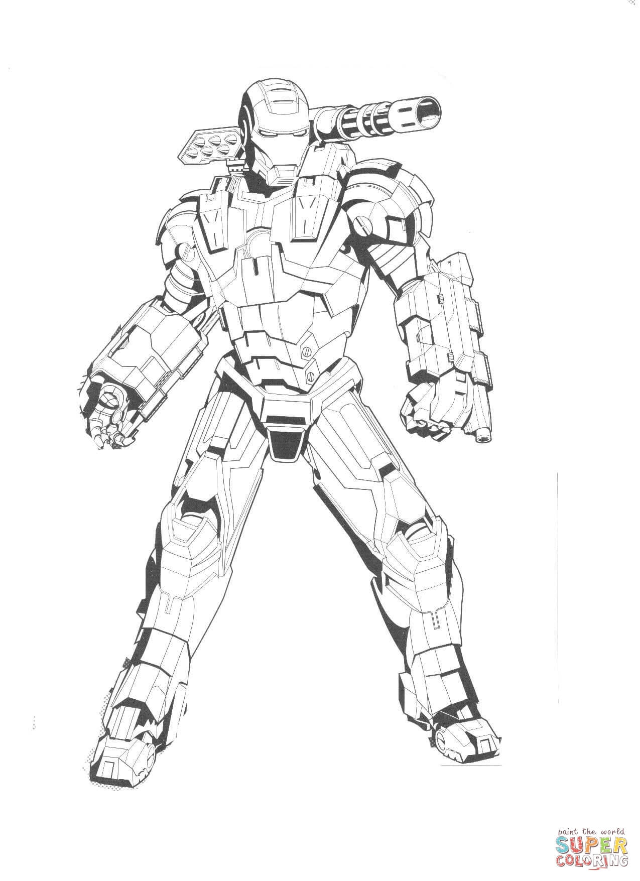 Ironman Coloring Pages Iron Man Coloring Pages Free Coloring Pages