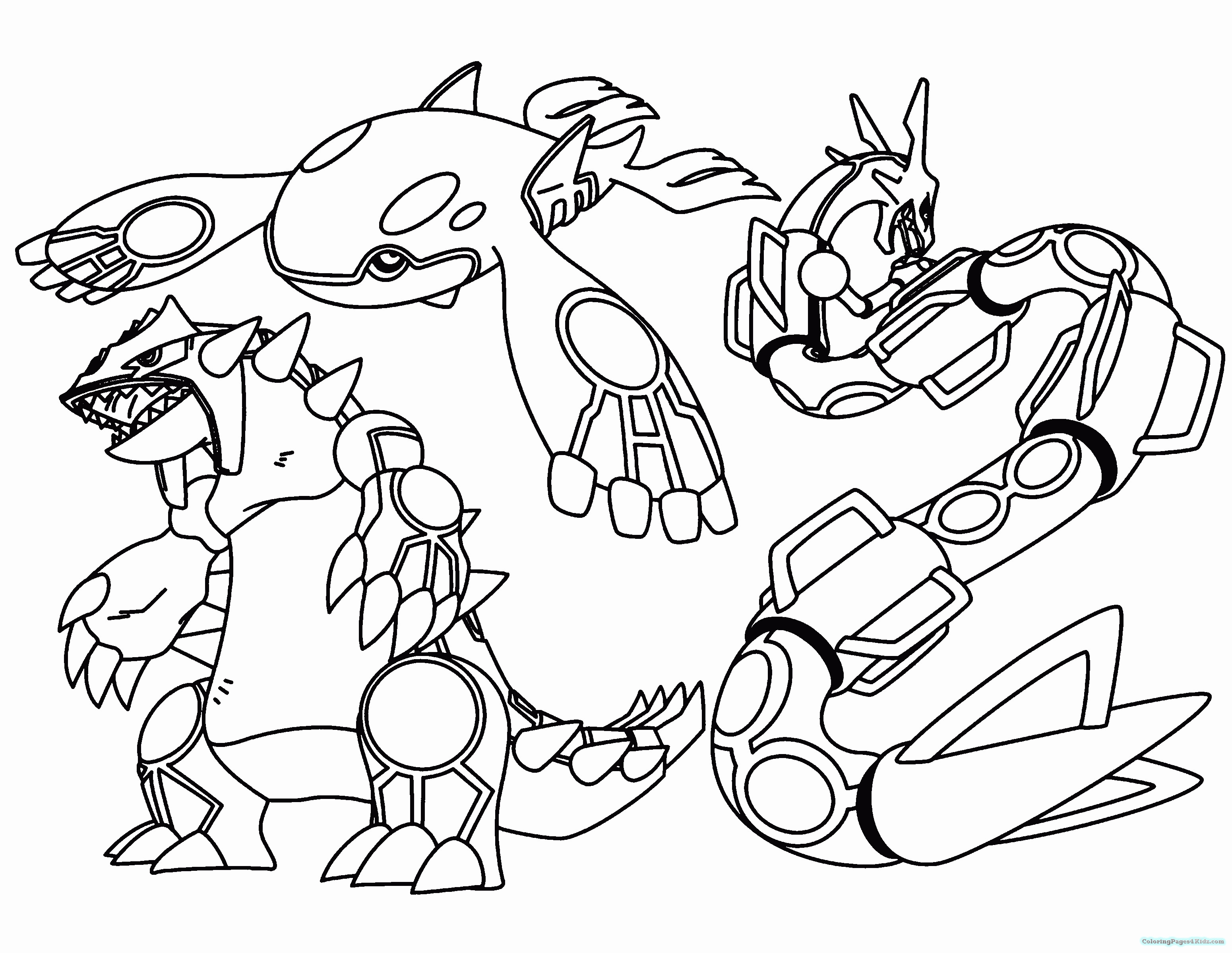 Legendary Pokemon Coloring Pages Luxury