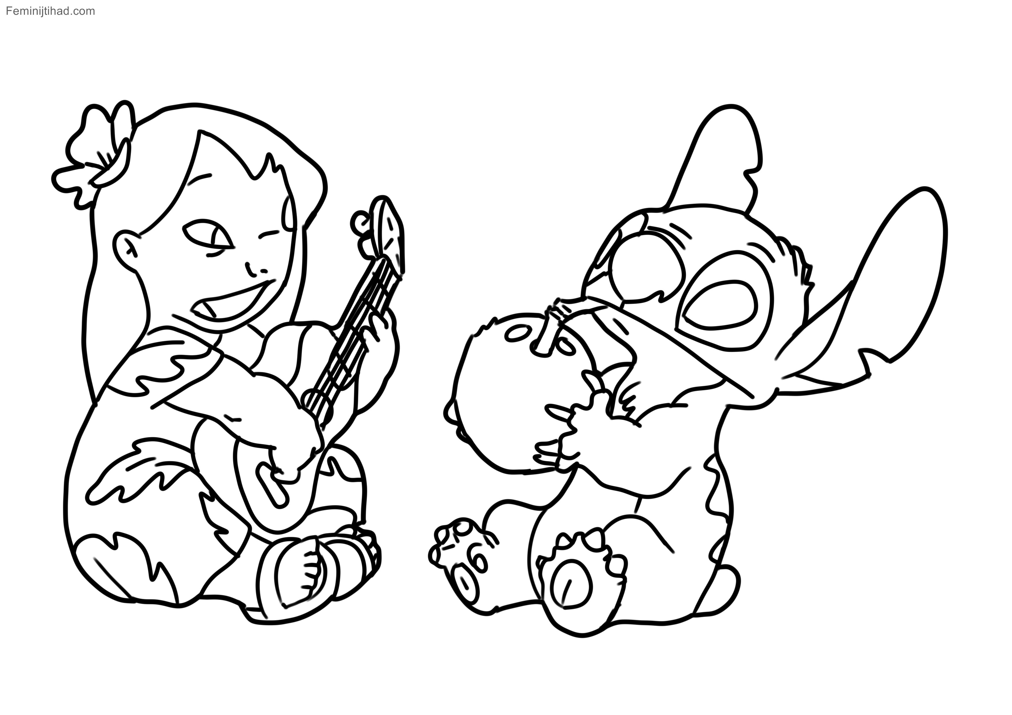 Lilo And Stitch Coloring Pages Improved Lilo Stitch Coloring Pages Cute Best Of And Bike Ideas20 Birijus Com