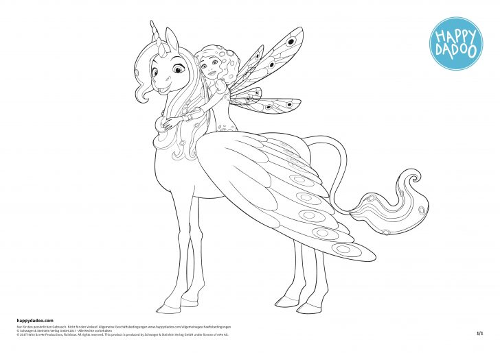 23 Great Image Of Mia And Me Coloring Pages Birijus Com