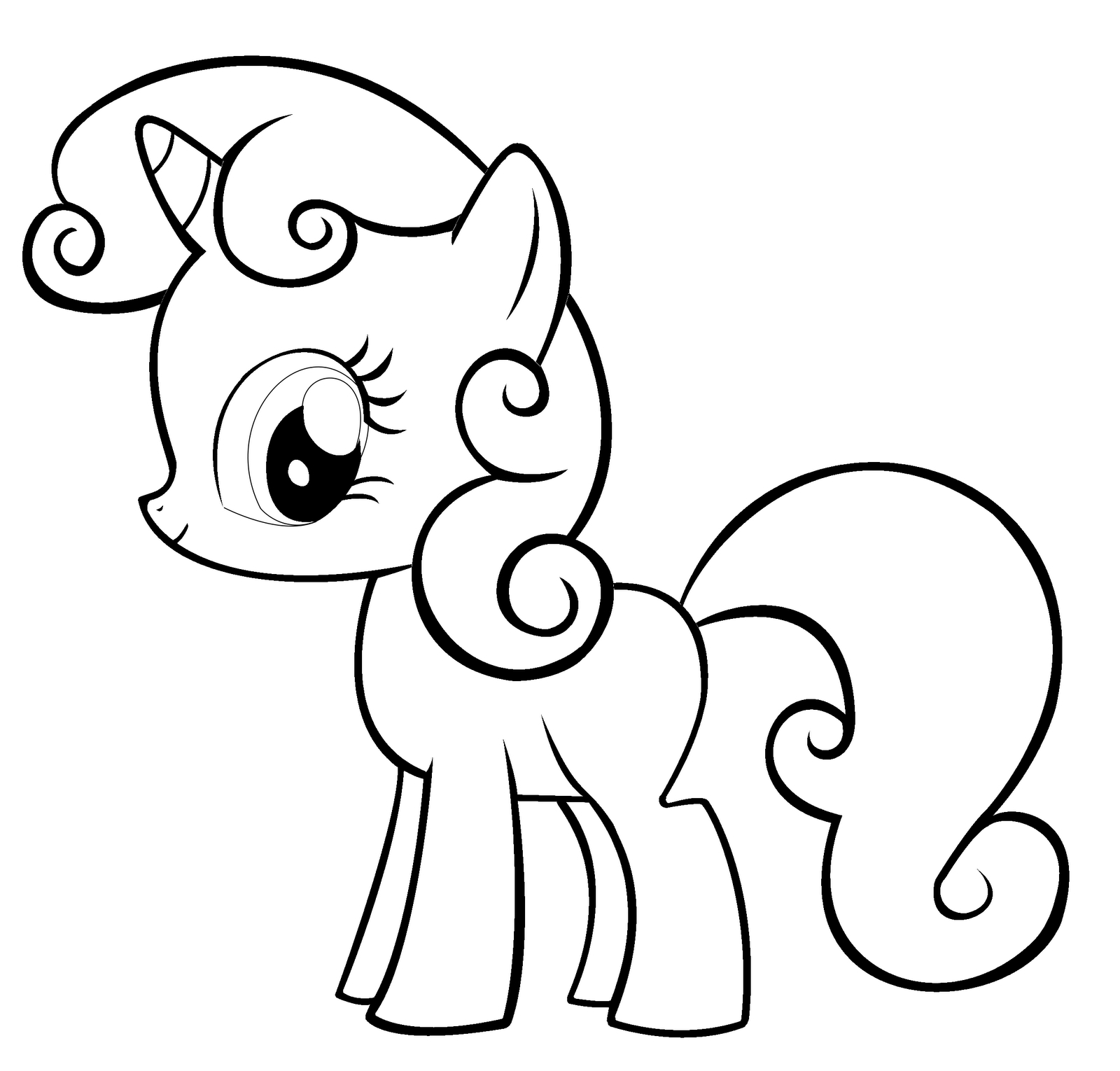 Mlp Coloring Pages Free Printable My Little Pony Coloring Pages ...   1530x1600