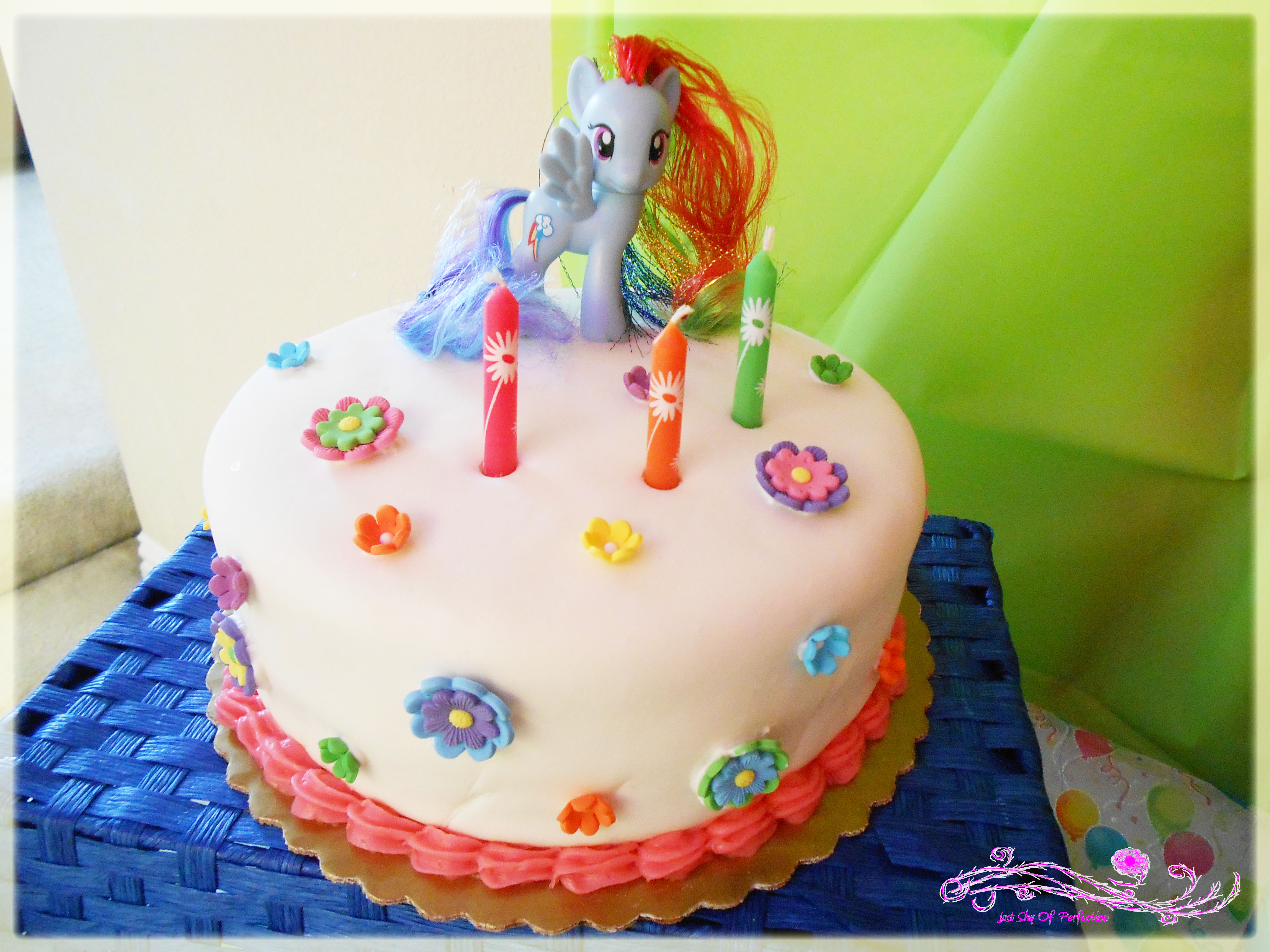3456 In 32 Great Image Of My Little Pony Birthday Cake