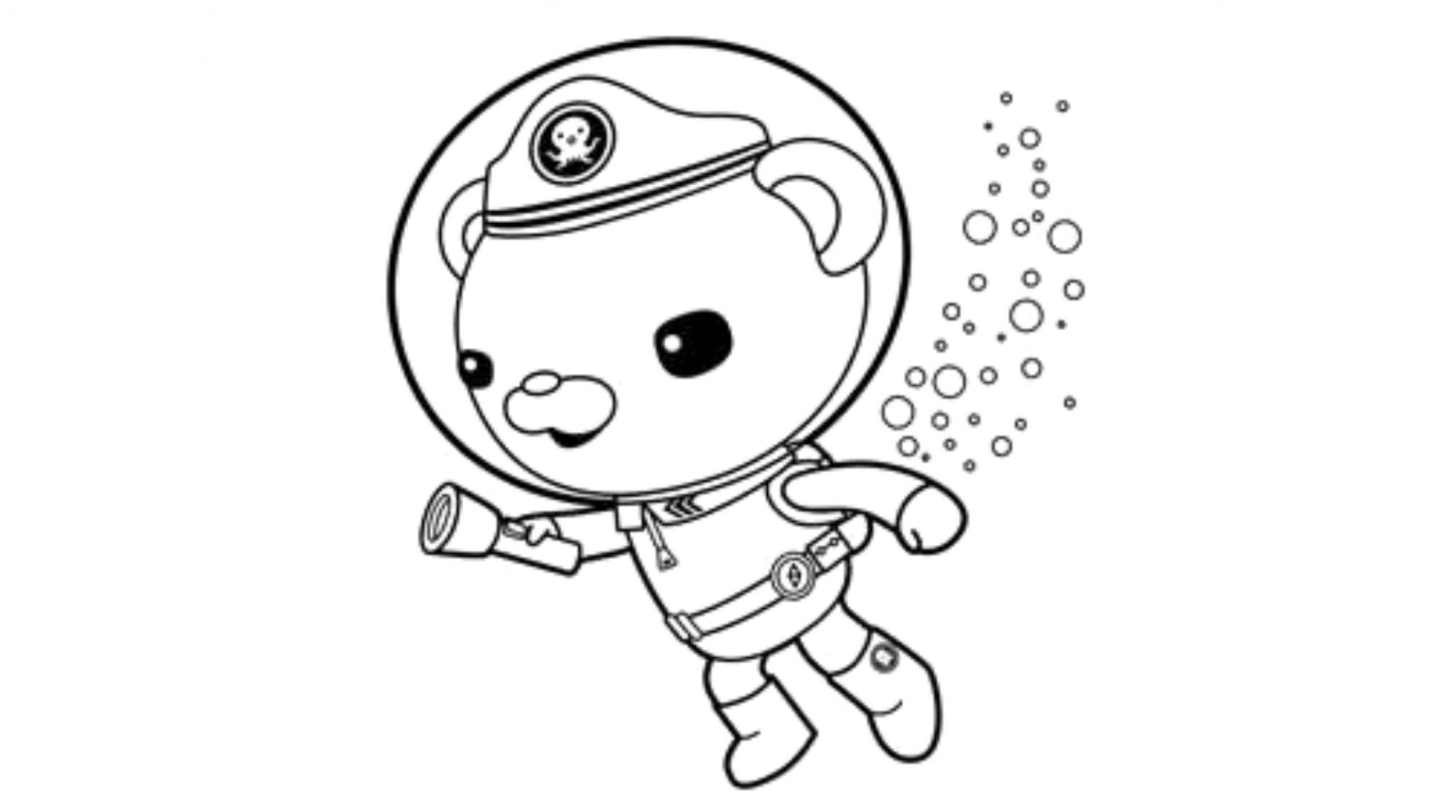 Octonauts Coloring Pages Print Download Octonauts Coloring ...