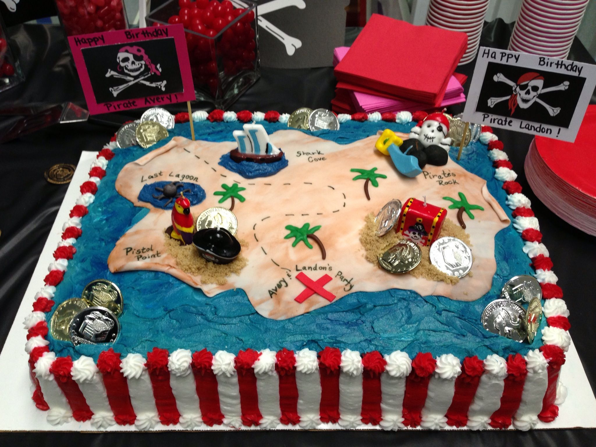 Pirate Birthday Cake Pirate Cake How To Party Ideas Pirate Birthday ...