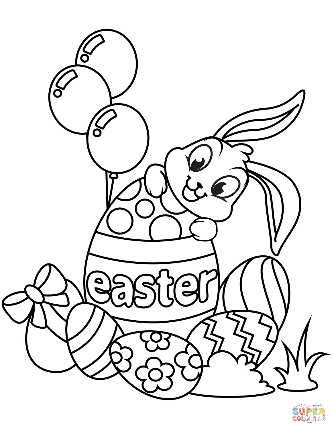 - Printable Easter Coloring Pages Coloring Page Marvelous Easter