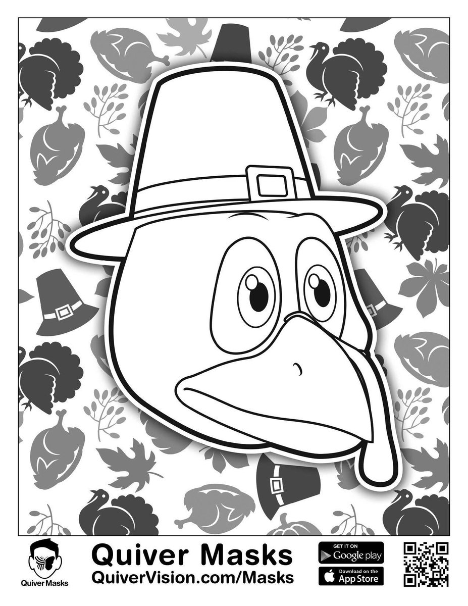 Quiver Coloring Pages Quivervision On Twitter Happy Thanksgiving