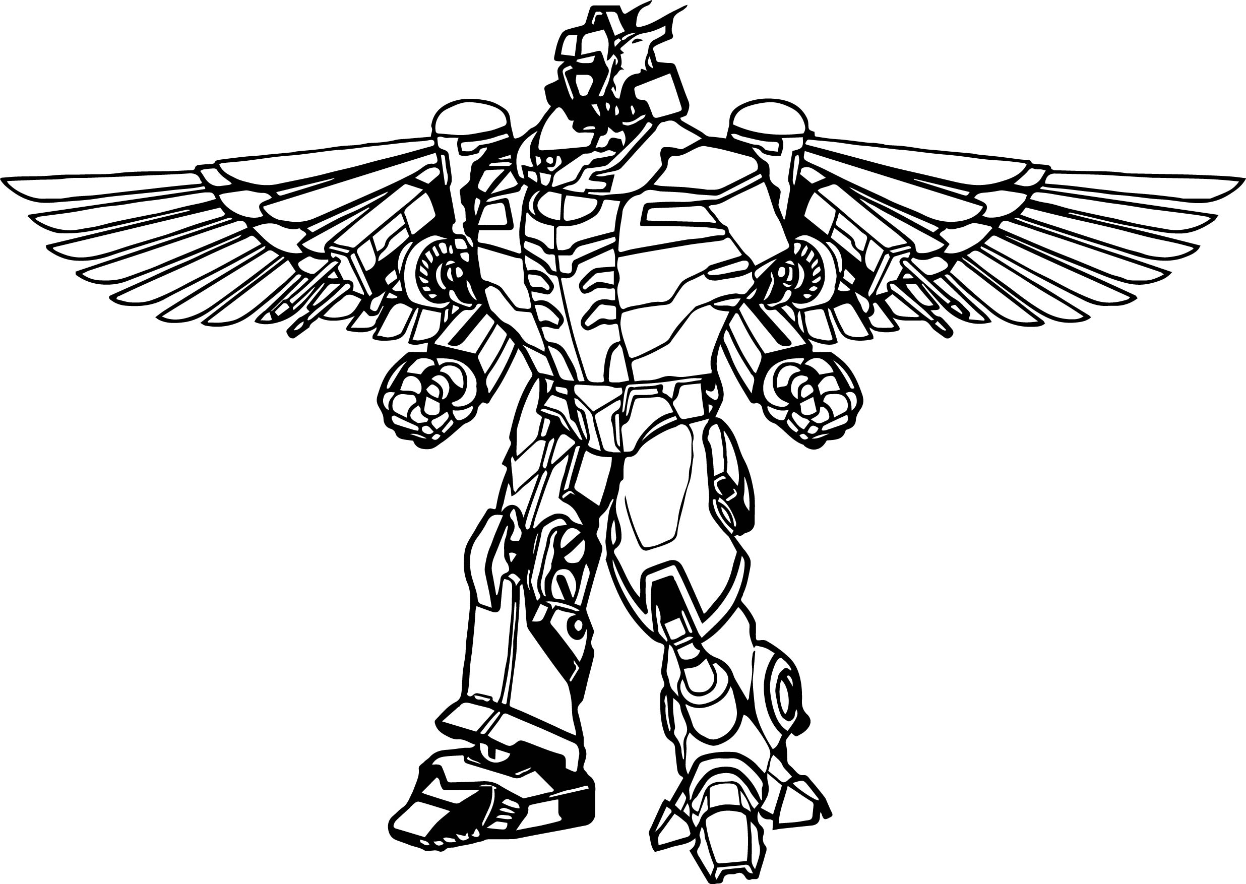 - Robot Coloring Page 23 Power Rangers Dino Charge Coloring Pages