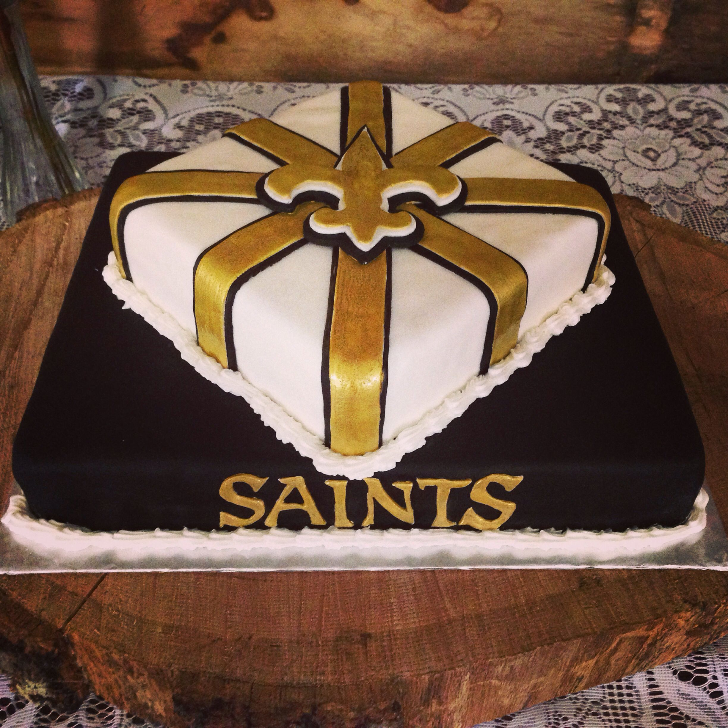 2448 In 27 Best Photo Of Saints Birthday Cake New Orleans