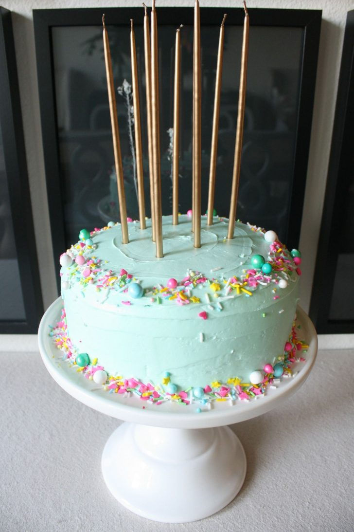 Simple Birthday Cake Ideas Girls Party Pinterest