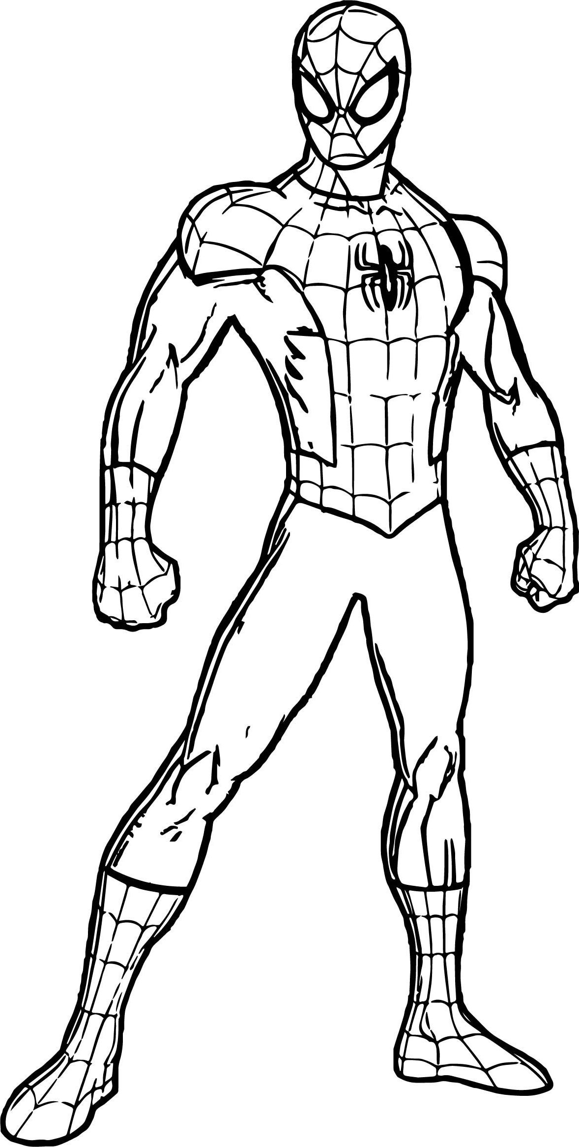 Spider Man Homecoming Coloring Pages Spiderman Coloring Pages Only