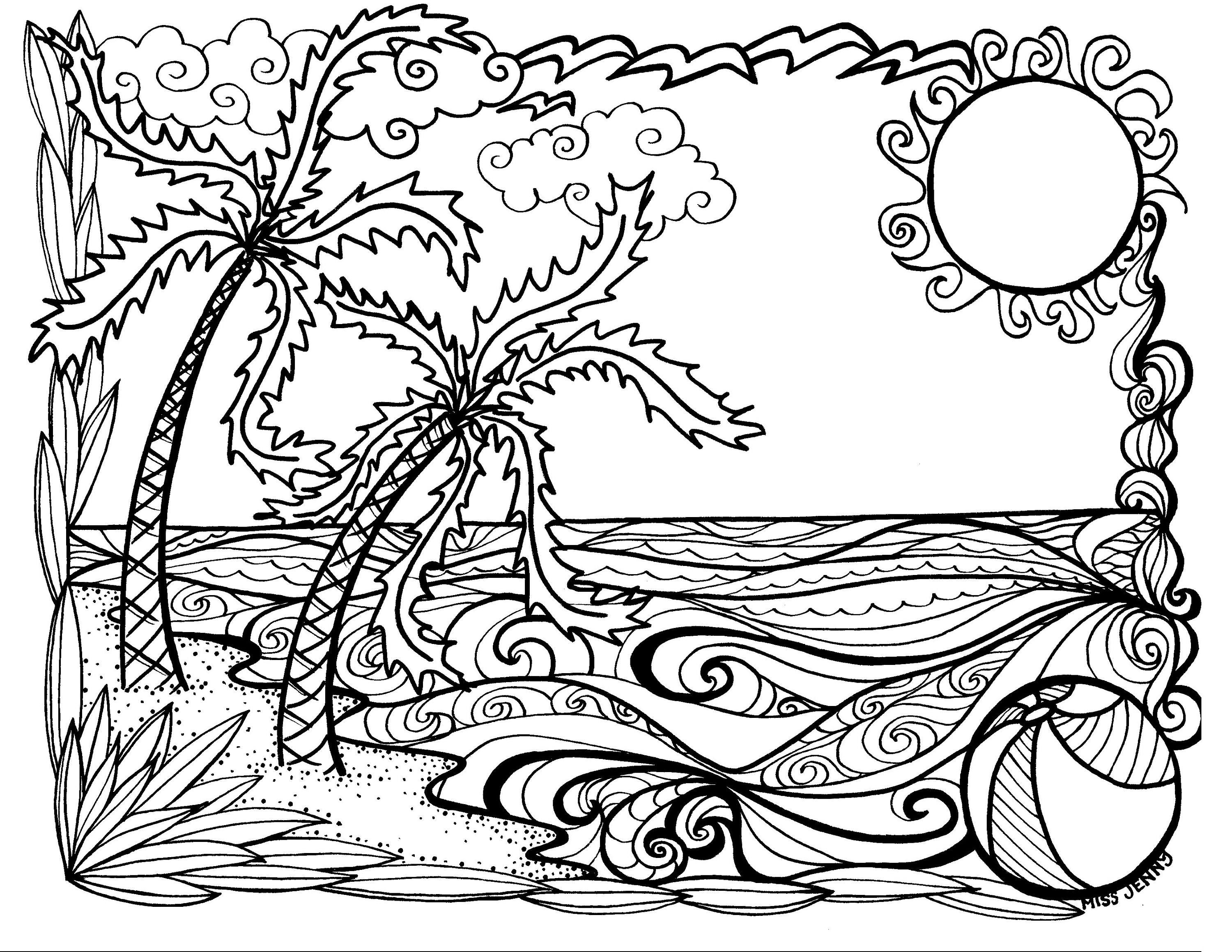 Summer Fun Coloring Pages Coloring Page Fun Coloring Sheets