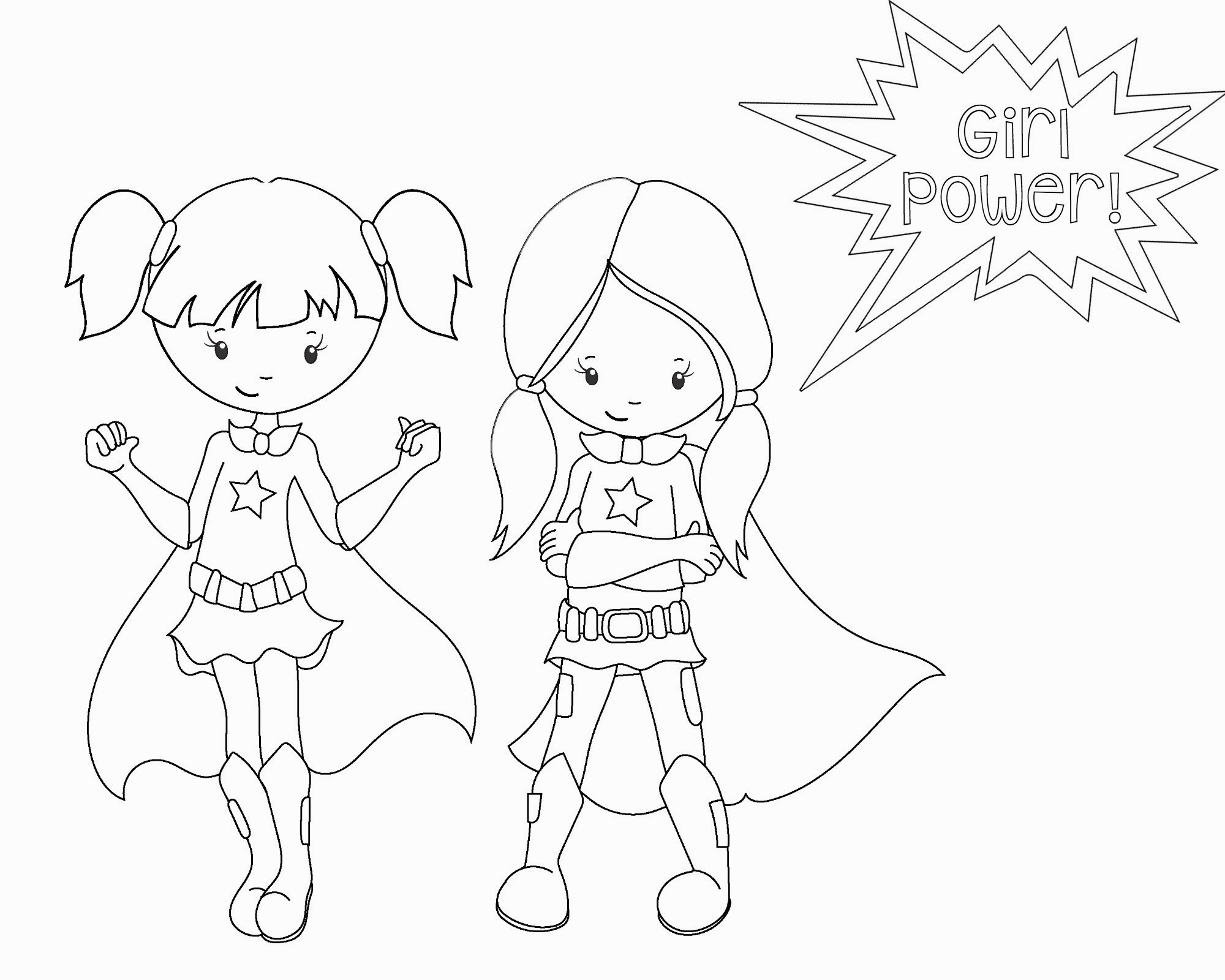 Cute Girl Coloring Pages Coloring Pages To Print Girl Coloring ... | 1600x2000