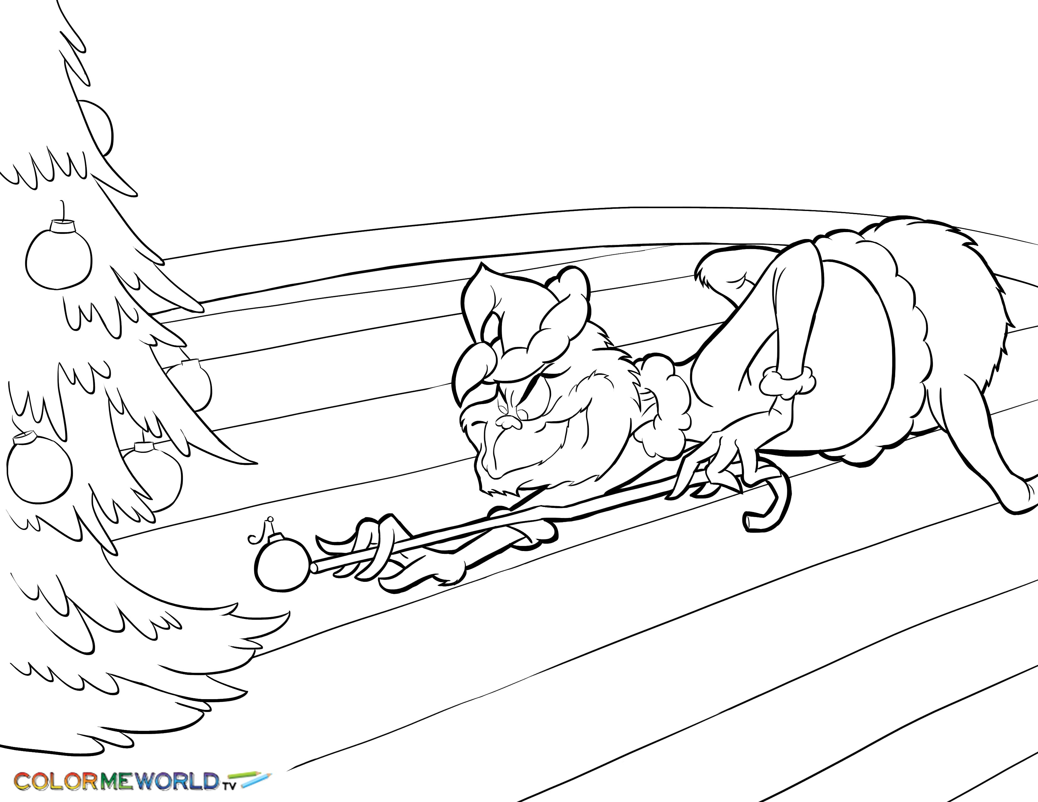 - The Grinch Coloring Pages The Grinch Coloring Pages Free Printable