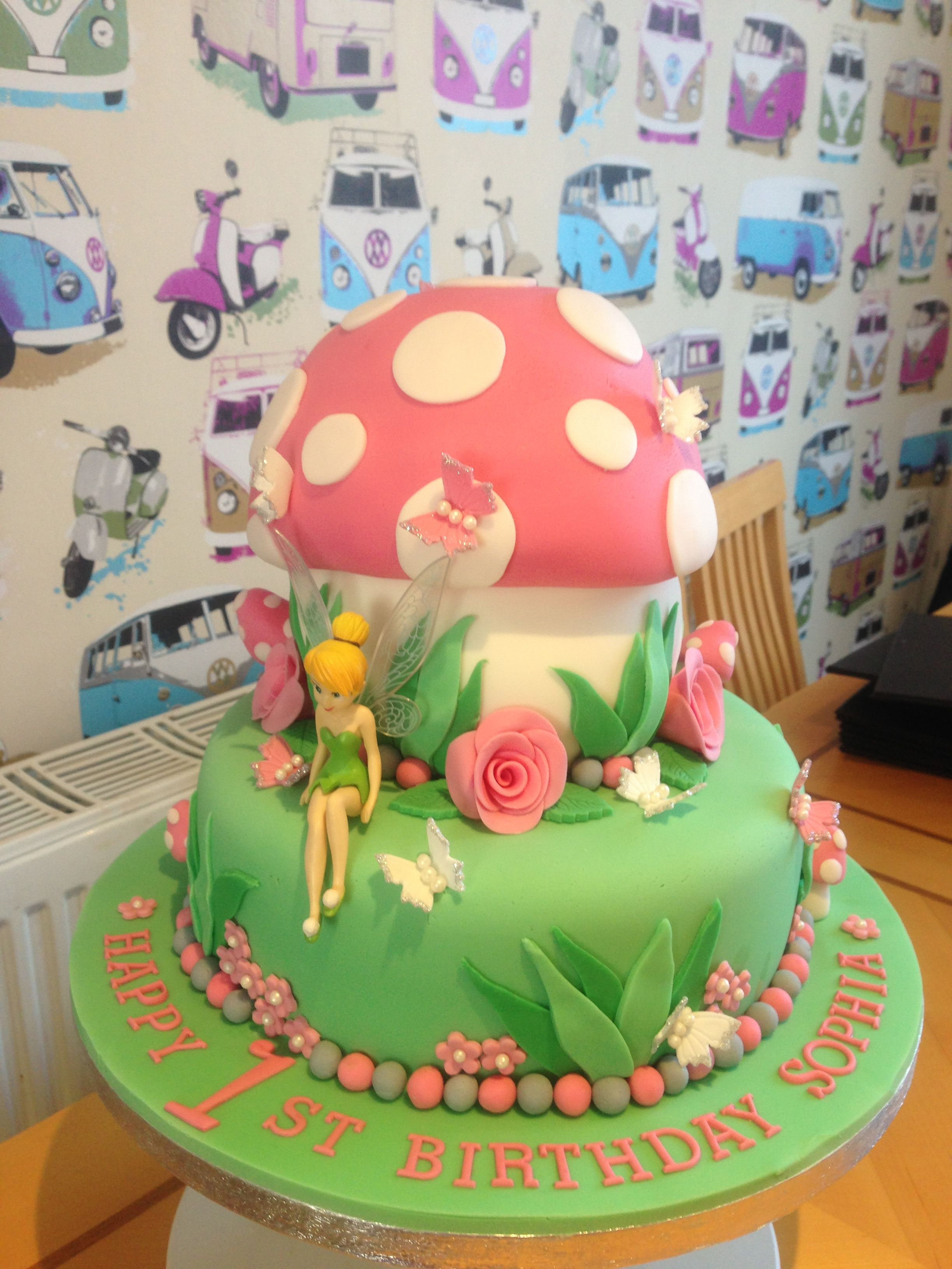 2448 X 3264 In 27 Awesome Image Of Tinkerbell Birthday Cakes