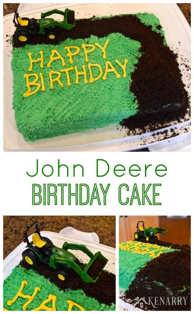1190 In 30 Awesome Photo Of Tractor Birthday Cakes