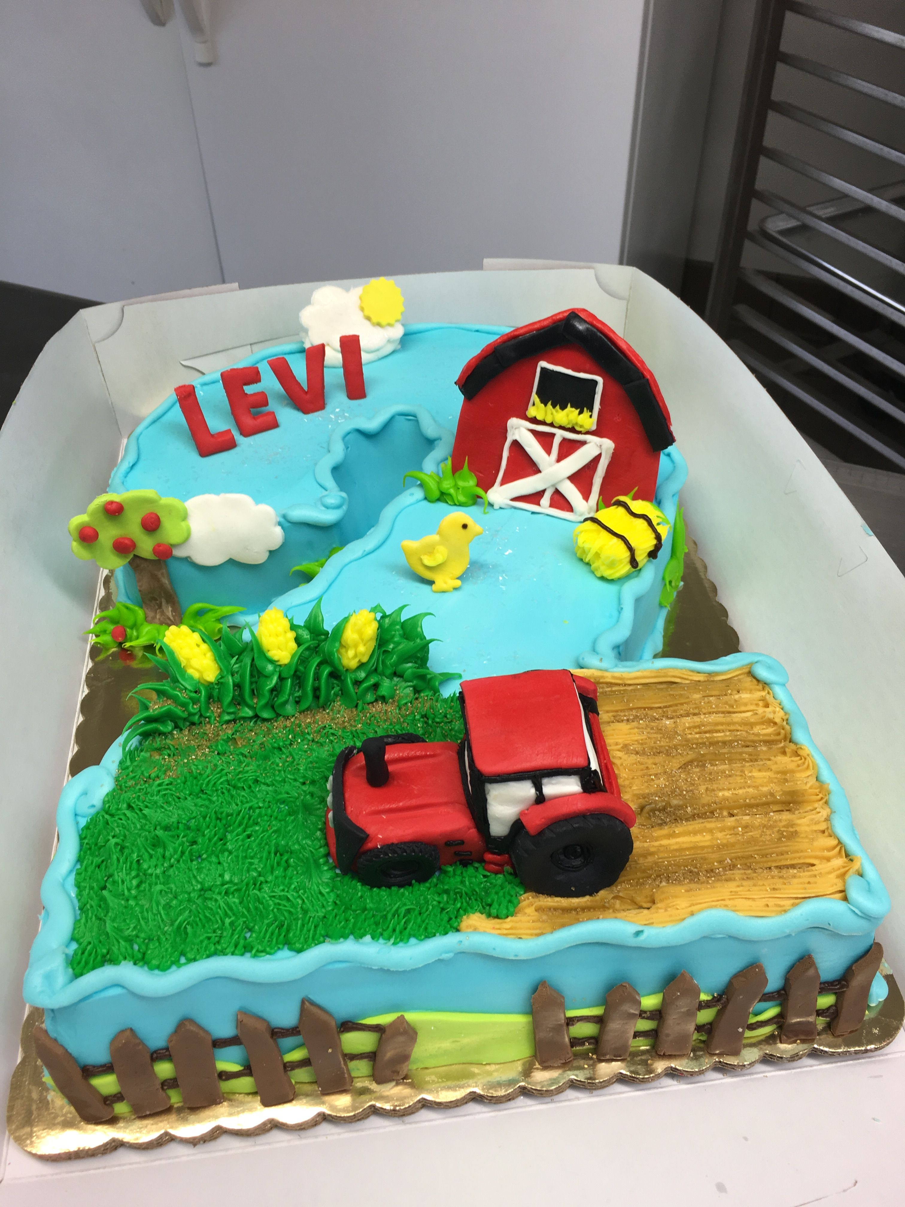 4032 In 30 Awesome Photo Of Tractor Birthday Cakes